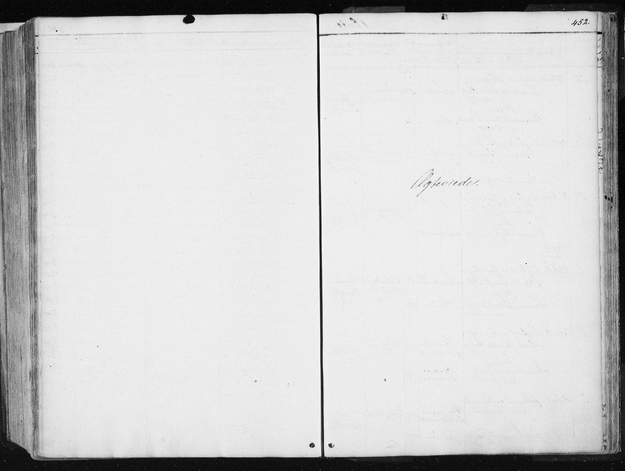 SAT, Ministerialprotokoller, klokkerbøker og fødselsregistre - Nord-Trøndelag, 741/L0393: Ministerialbok nr. 741A07, 1849-1863, s. 452