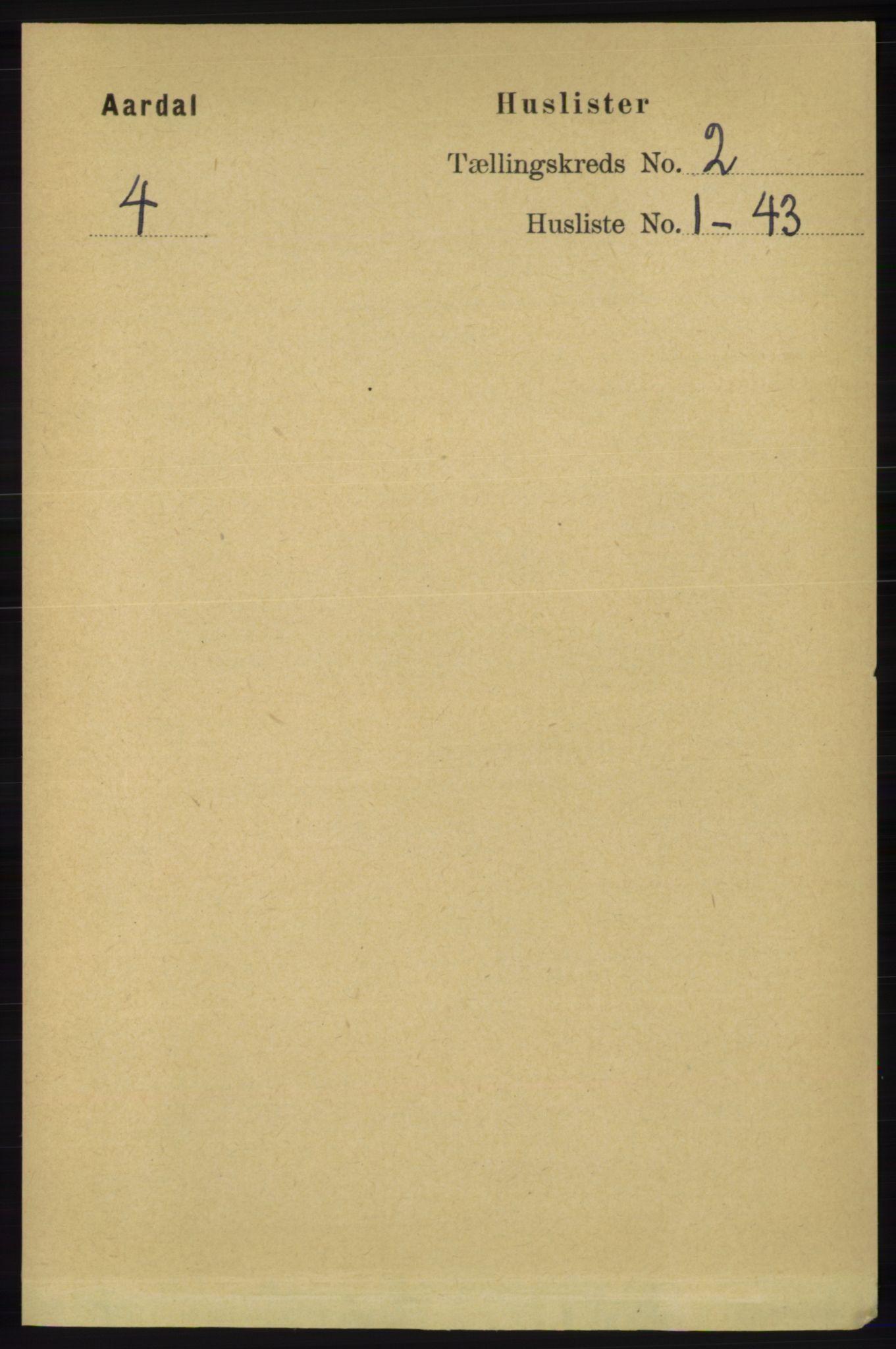RA, Folketelling 1891 for 1131 Årdal herred, 1891, s. 528
