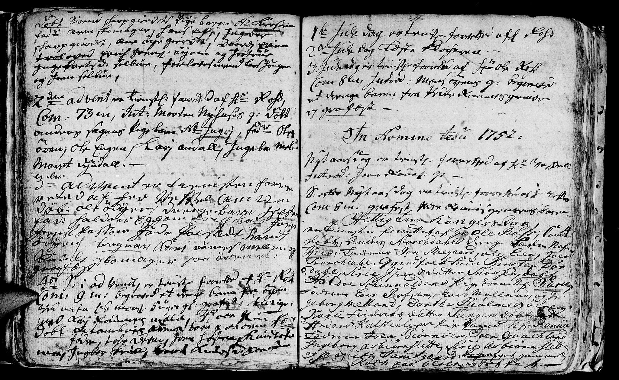 SAT, Ministerialprotokoller, klokkerbøker og fødselsregistre - Sør-Trøndelag, 668/L0813: Klokkerbok nr. 668C02, 1743-1765