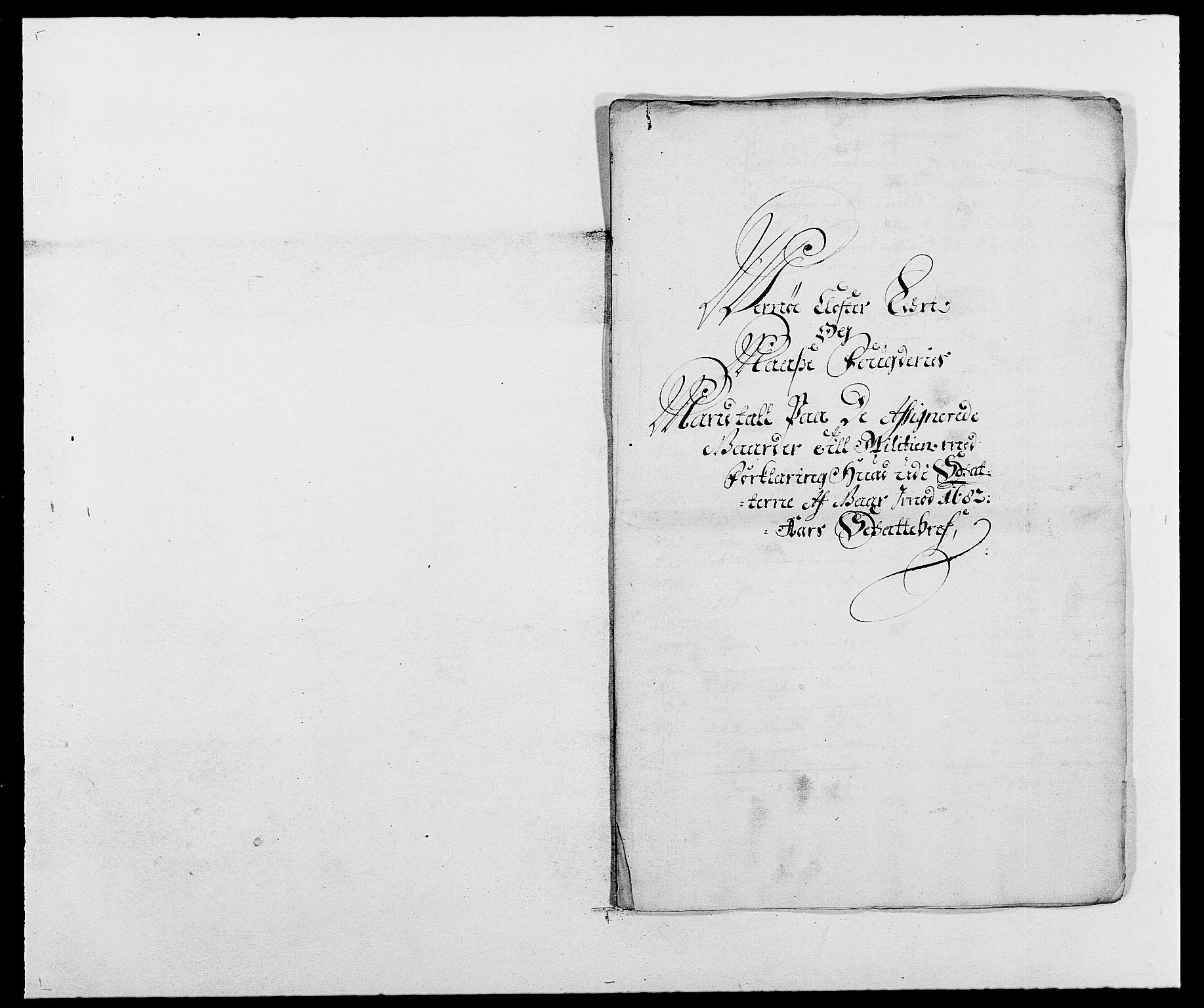 RA, Rentekammeret inntil 1814, Reviderte regnskaper, Fogderegnskap, R02/L0104: Fogderegnskap Moss og Verne kloster, 1682-1684, s. 85