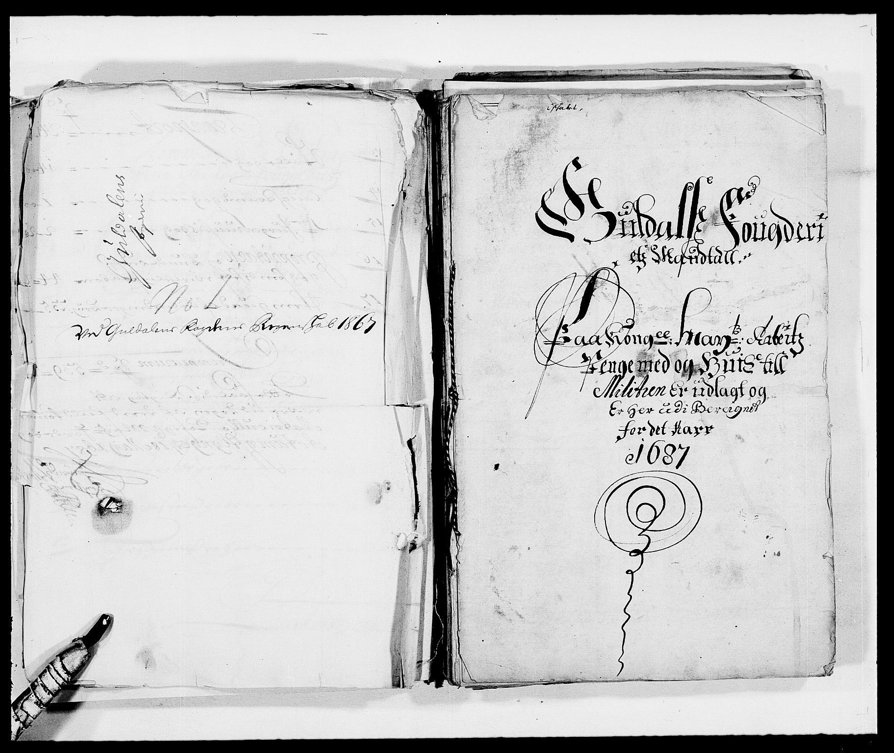 RA, Rentekammeret inntil 1814, Reviderte regnskaper, Fogderegnskap, R59/L3939: Fogderegnskap Gauldal, 1687-1688, s. 7
