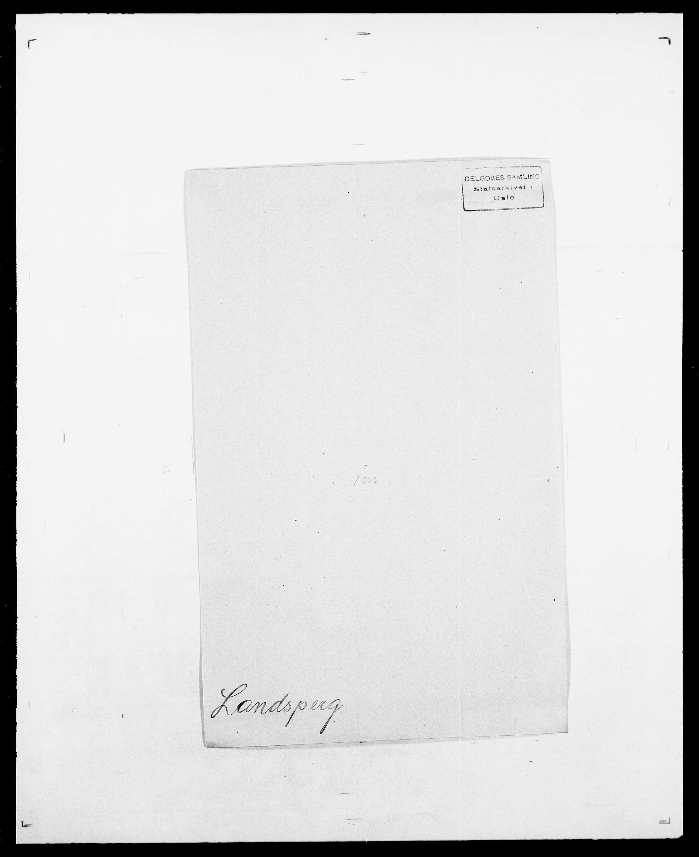 SAO, Delgobe, Charles Antoine - samling, D/Da/L0022: Krog - Lasteen, s. 537