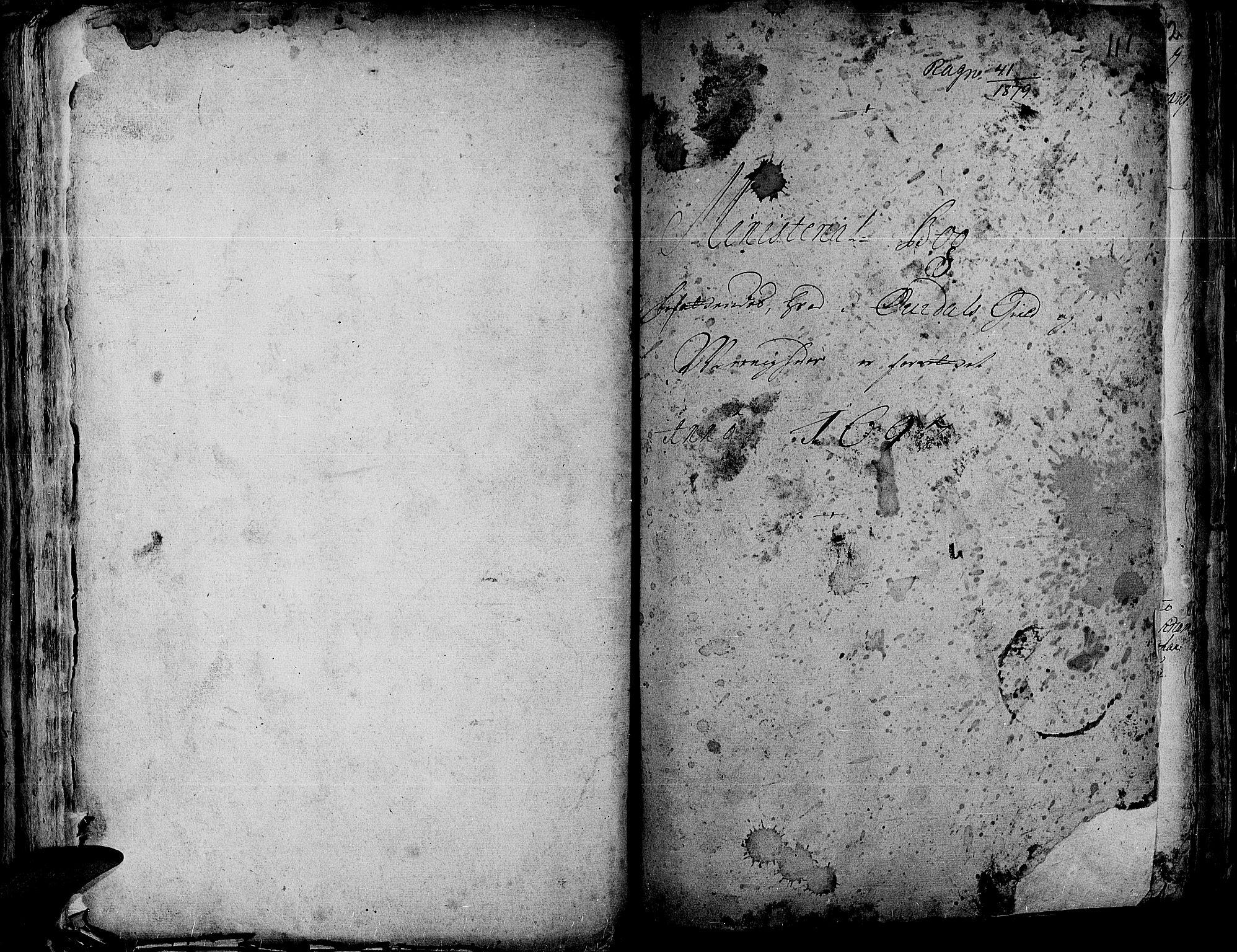 SAH, Aurdal prestekontor, Ministerialbok nr. 1-3, 1692-1730, s. 111