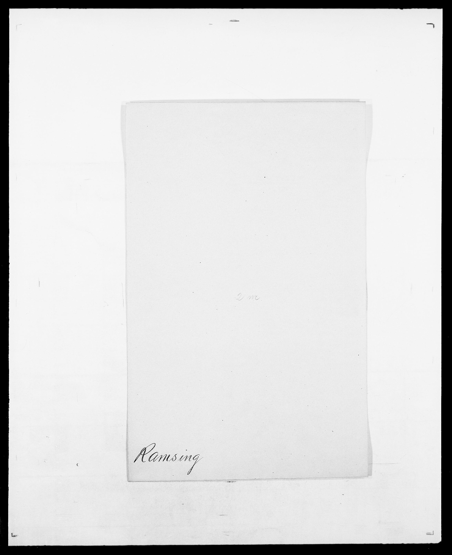 SAO, Delgobe, Charles Antoine - samling, D/Da/L0032: Rabakovsky - Rivertz, s. 83