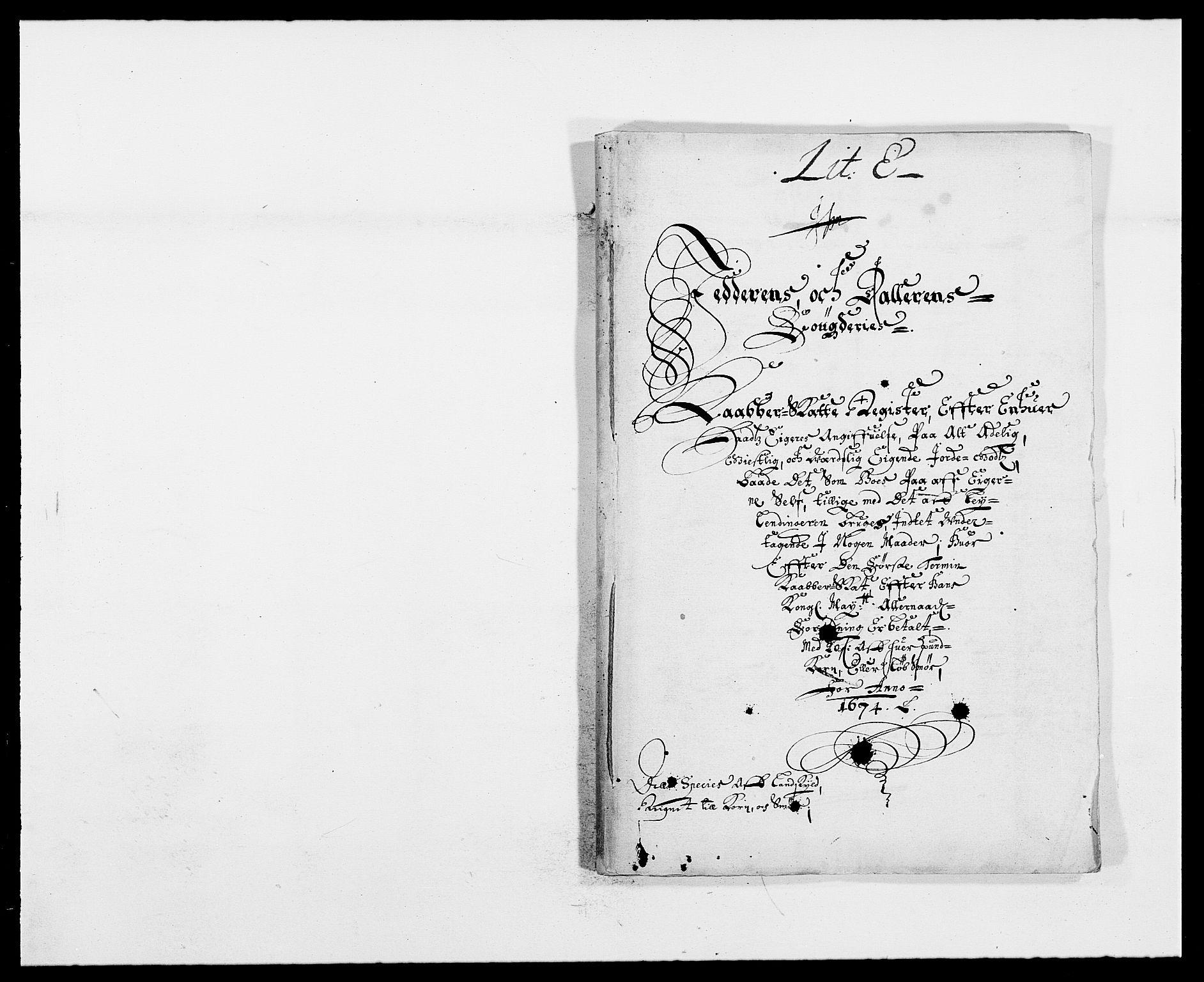 RA, Rentekammeret inntil 1814, Reviderte regnskaper, Fogderegnskap, R46/L2714: Fogderegnskap Jæren og Dalane, 1673-1674, s. 356