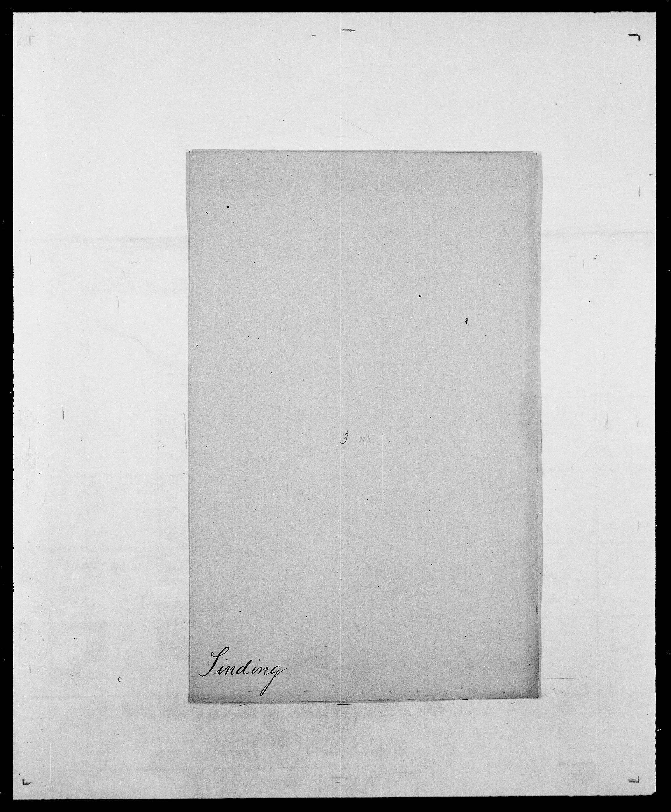 SAO, Delgobe, Charles Antoine - samling, D/Da/L0035: Schnabel - sjetman, s. 919