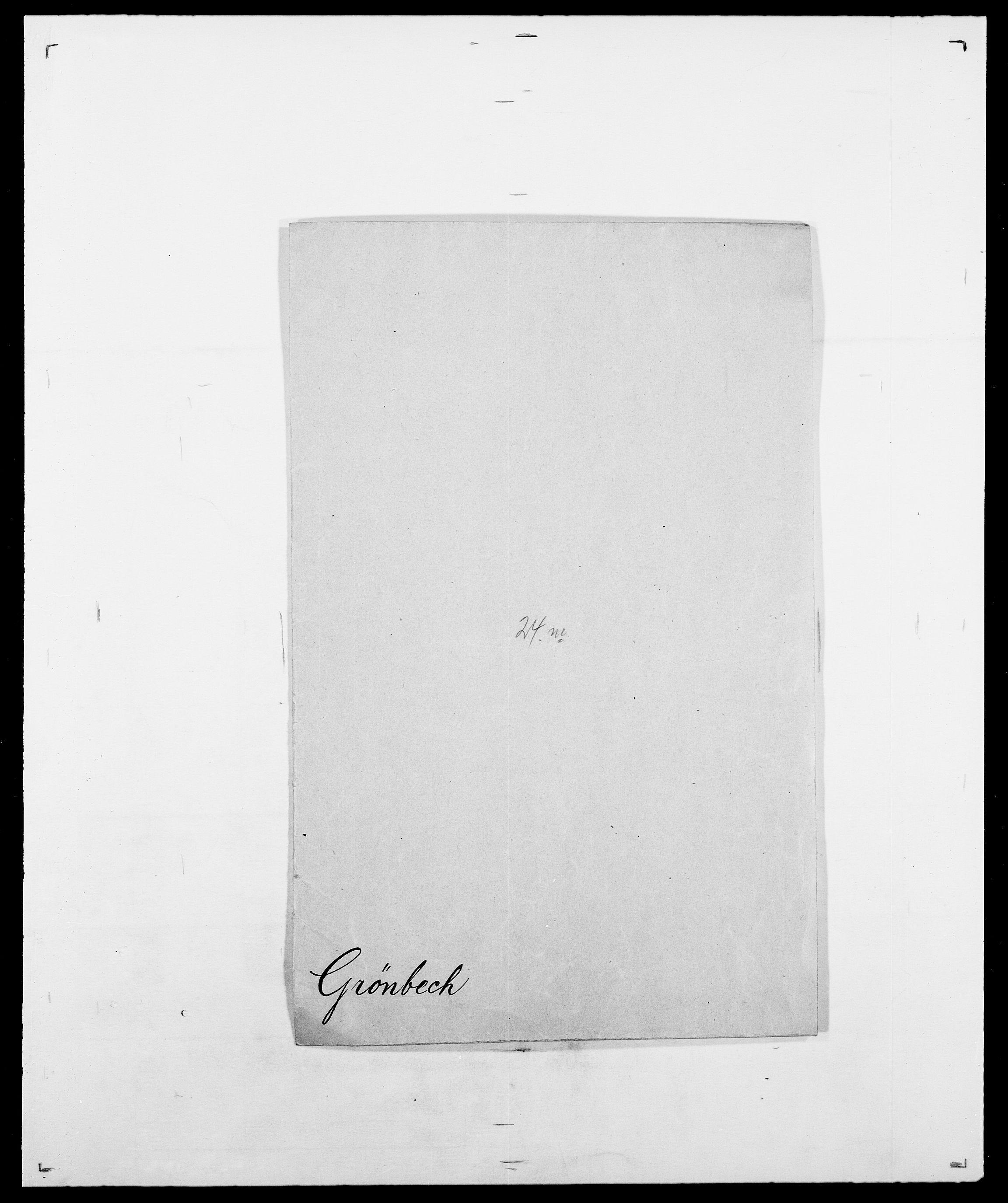 SAO, Delgobe, Charles Antoine - samling, D/Da/L0015: Grodtshilling - Halvorsæth, s. 194