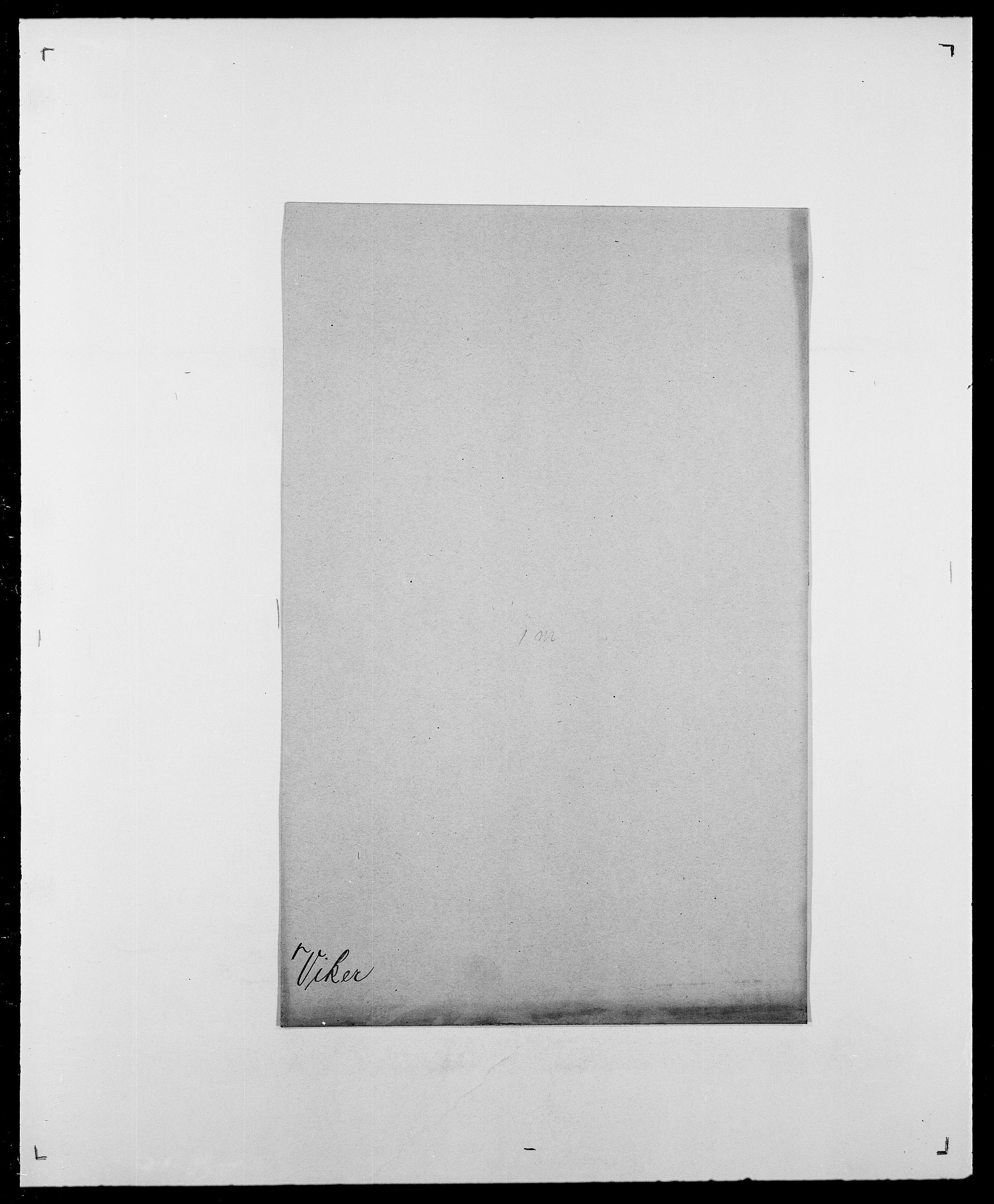 SAO, Delgobe, Charles Antoine - samling, D/Da/L0041: Vemmestad - Viker, s. 739