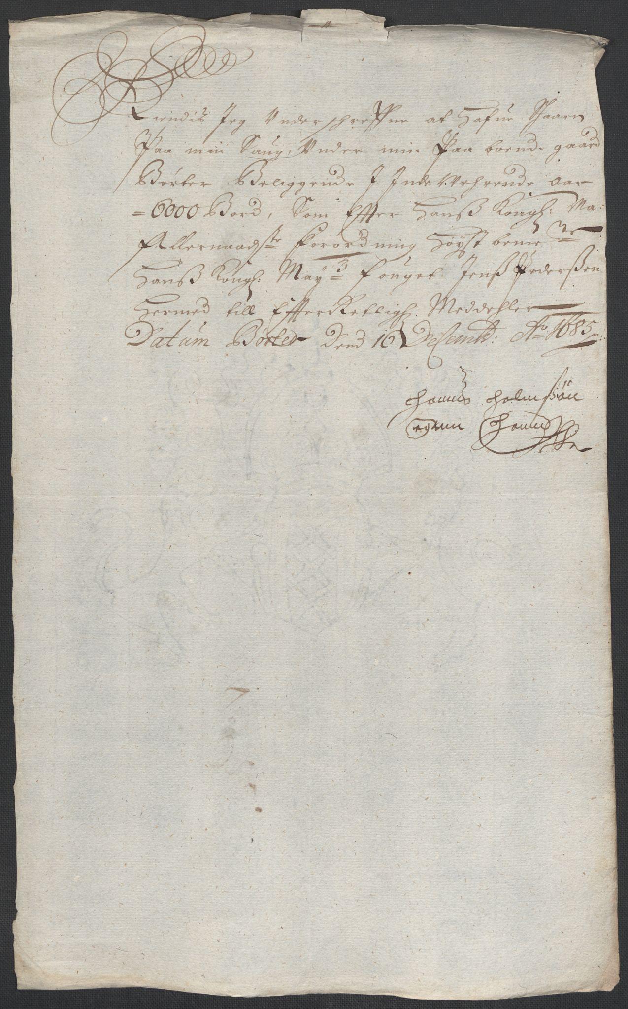 RA, Rentekammeret inntil 1814, Reviderte regnskaper, Fogderegnskap, R11/L0571: Fogderegnskap Nedre Romerike, 1683-1685, s. 478