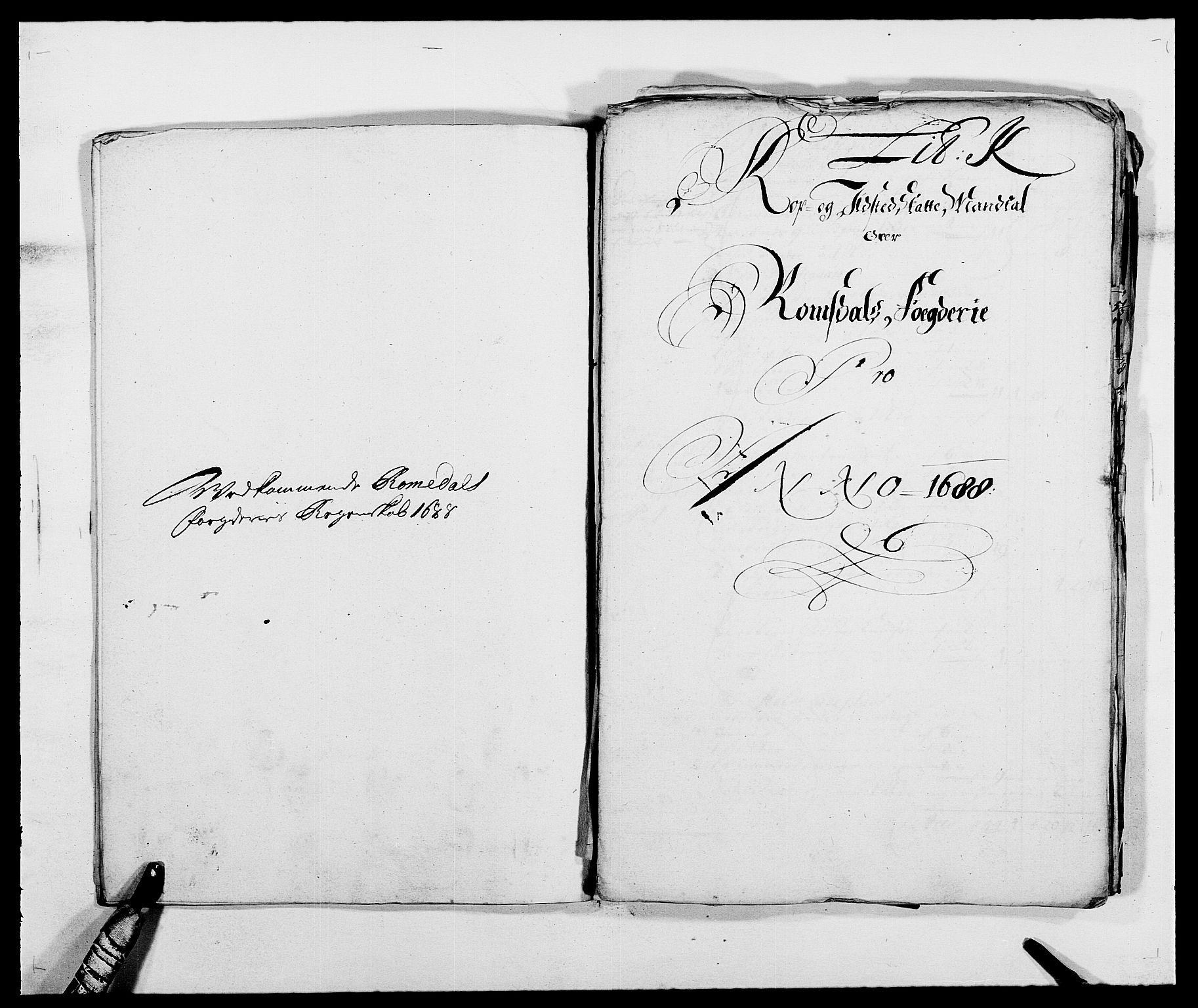 RA, Rentekammeret inntil 1814, Reviderte regnskaper, Fogderegnskap, R55/L3648: Fogderegnskap Romsdal, 1687-1689, s. 252
