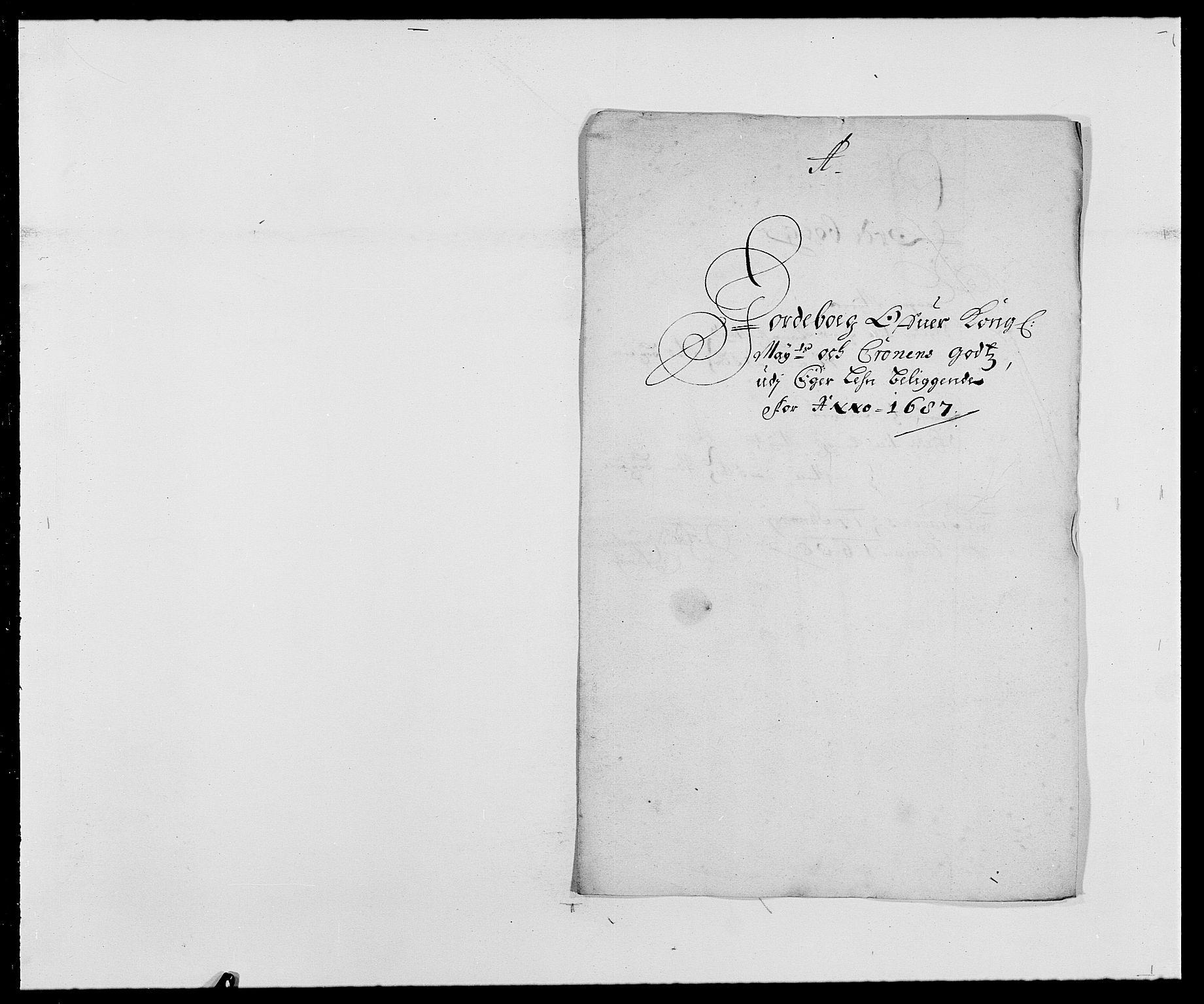 RA, Rentekammeret inntil 1814, Reviderte regnskaper, Fogderegnskap, R28/L1688: Fogderegnskap Eiker og Lier, 1687-1689, s. 14