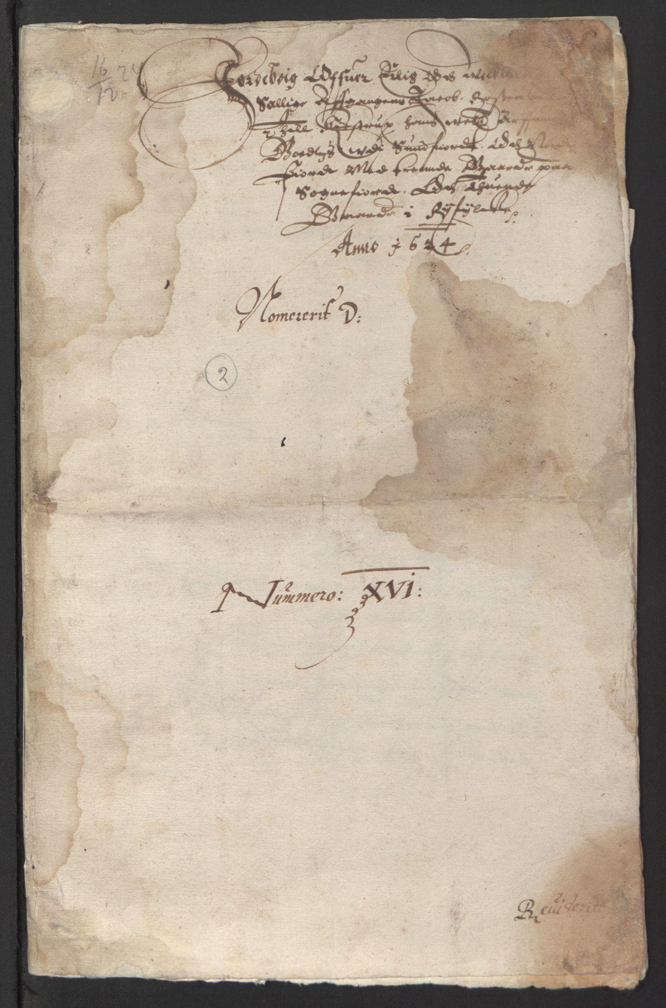 RA, Stattholderembetet 1572-1771, Ek/L0007: Jordebøker til utlikning av rosstjeneste 1624-1626:, 1624-1625, s. 363