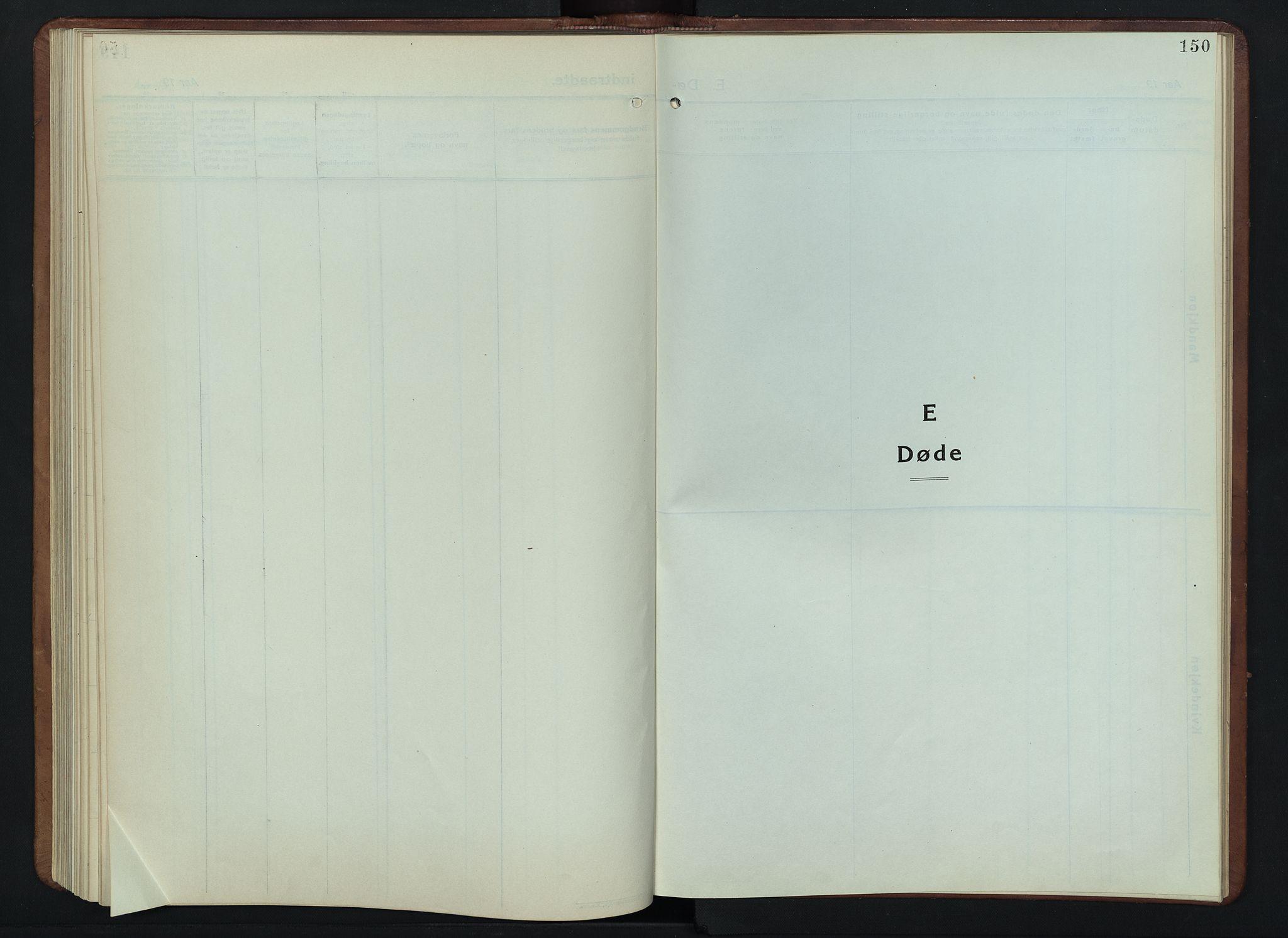 SAH, Lesja prestekontor, Klokkerbok nr. 9, 1924-1947, s. 150