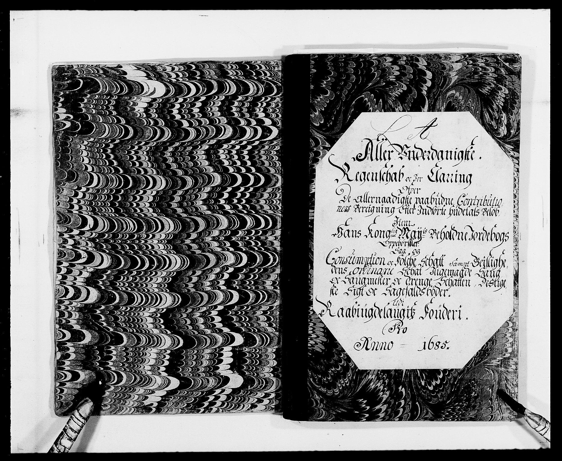 RA, Rentekammeret inntil 1814, Reviderte regnskaper, Fogderegnskap, R40/L2439: Fogderegnskap Råbyggelag, 1684-1685, s. 127