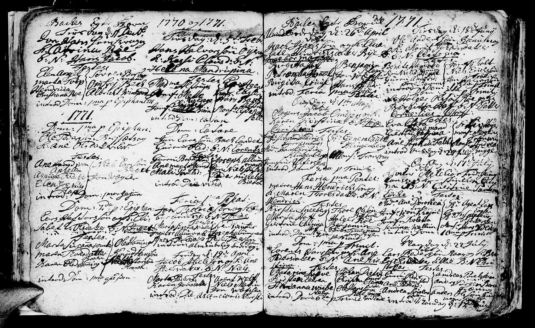 SAT, Ministerialprotokoller, klokkerbøker og fødselsregistre - Sør-Trøndelag, 604/L0218: Klokkerbok nr. 604C01, 1754-1819, s. 26