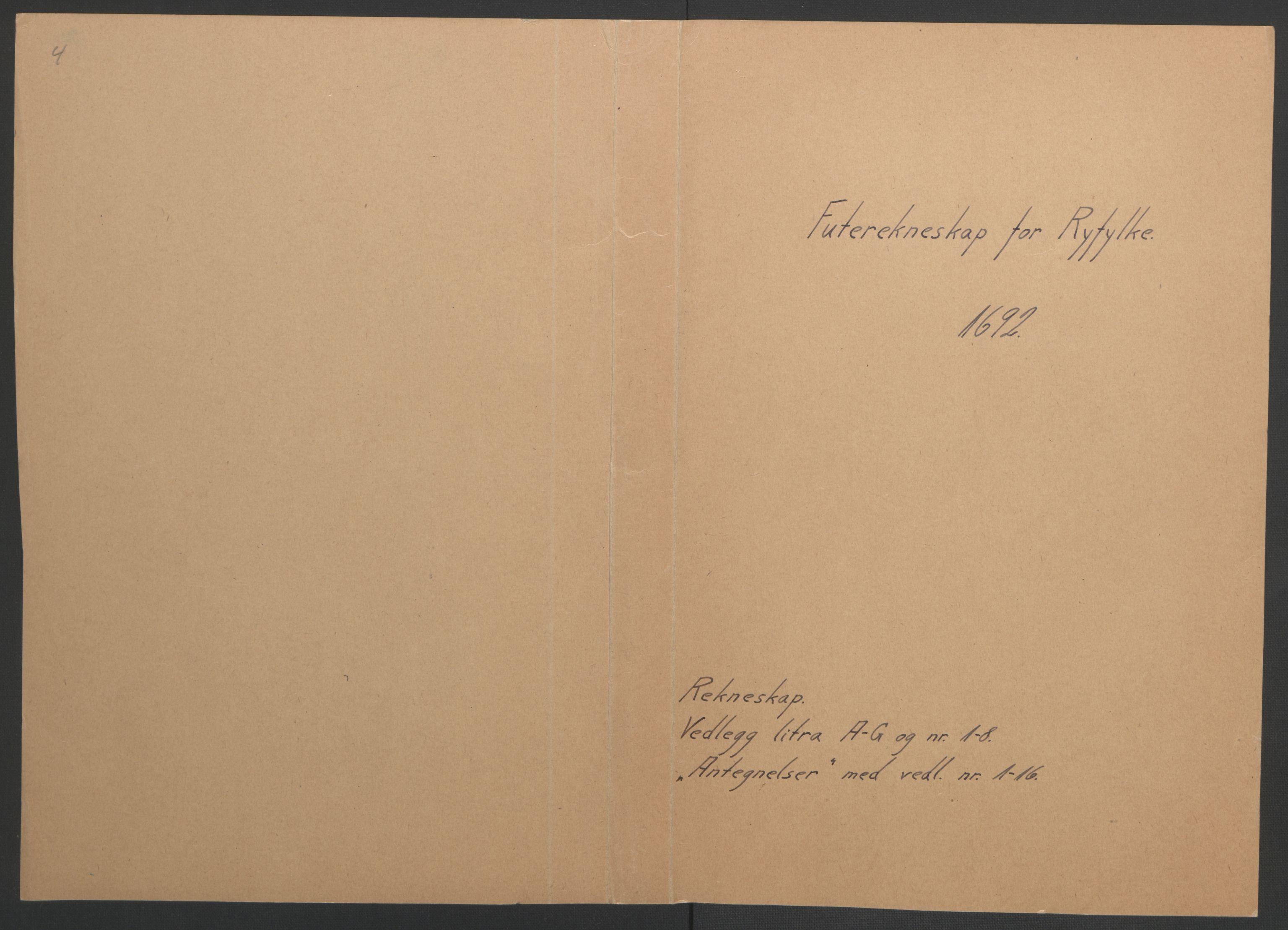 RA, Rentekammeret inntil 1814, Reviderte regnskaper, Fogderegnskap, R47/L2856: Fogderegnskap Ryfylke, 1689-1693, s. 440