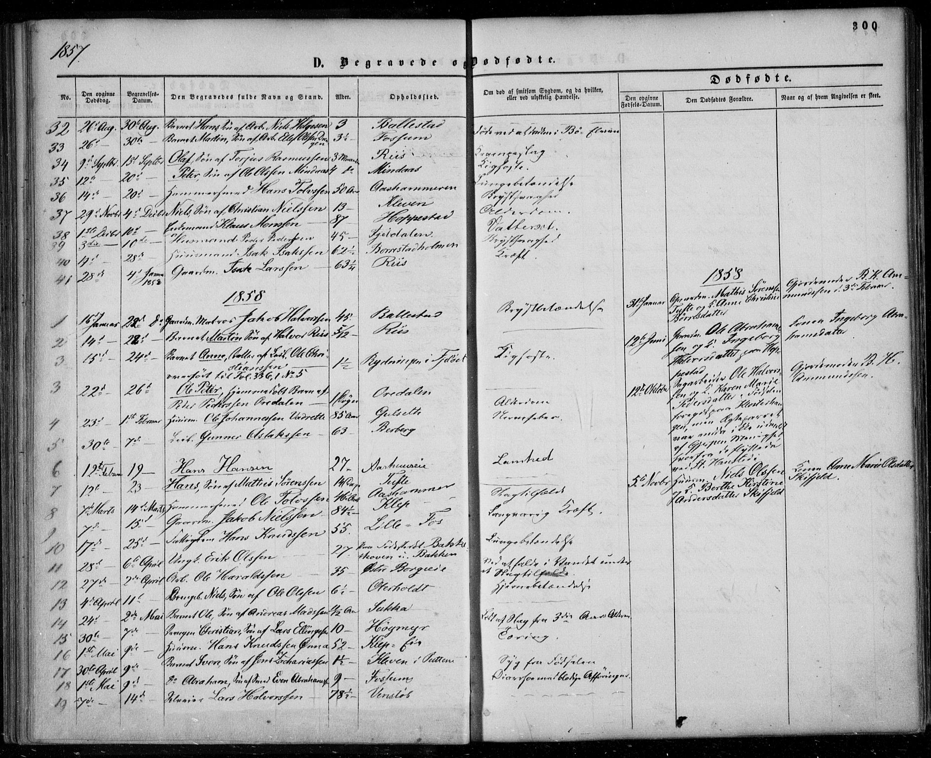 SAKO, Gjerpen kirkebøker, F/Fa/L0008b: Ministerialbok nr. 8B, 1857-1871, s. 300