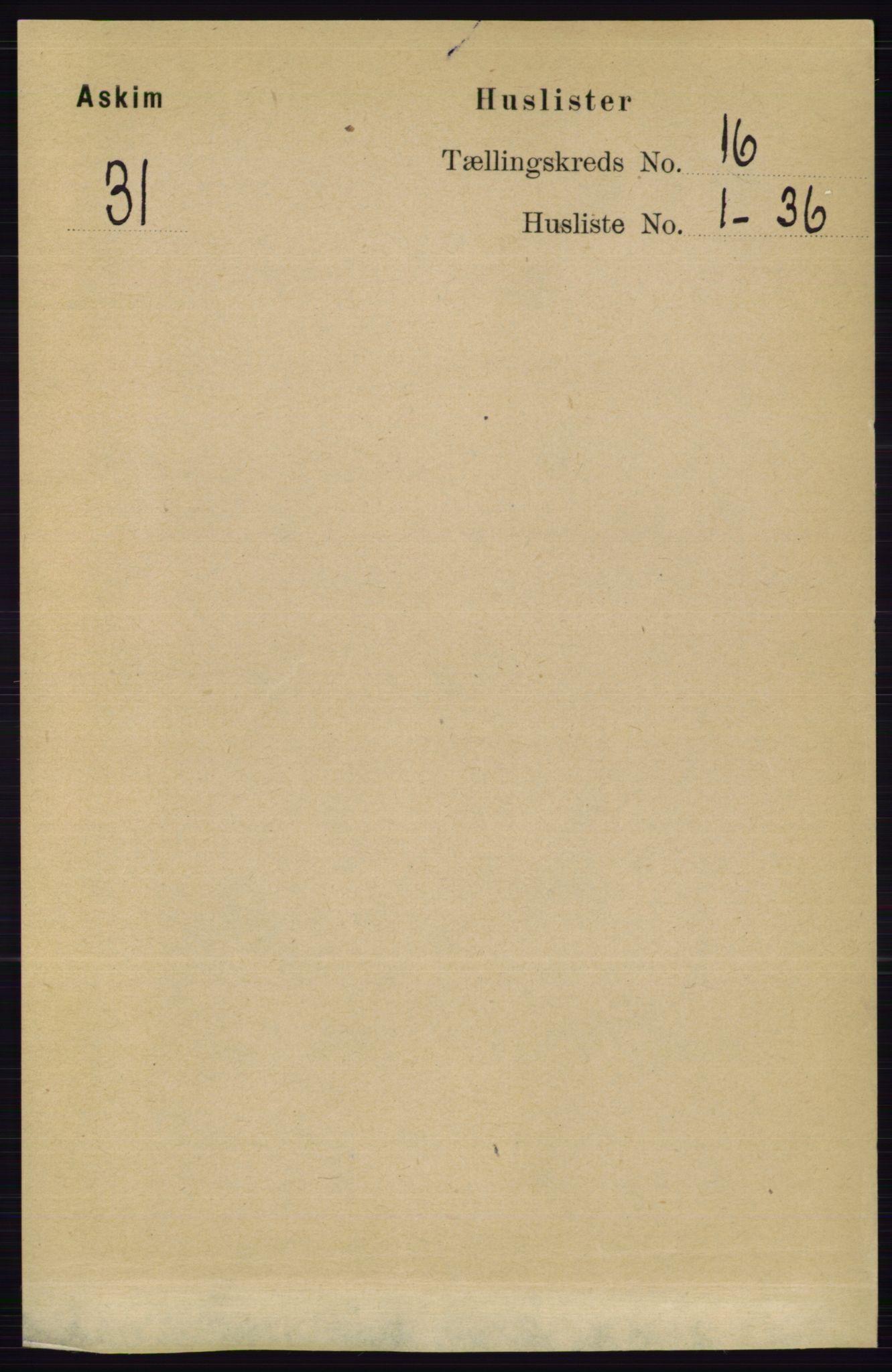 RA, Folketelling 1891 for 0124 Askim herred, 1891, s. 2602