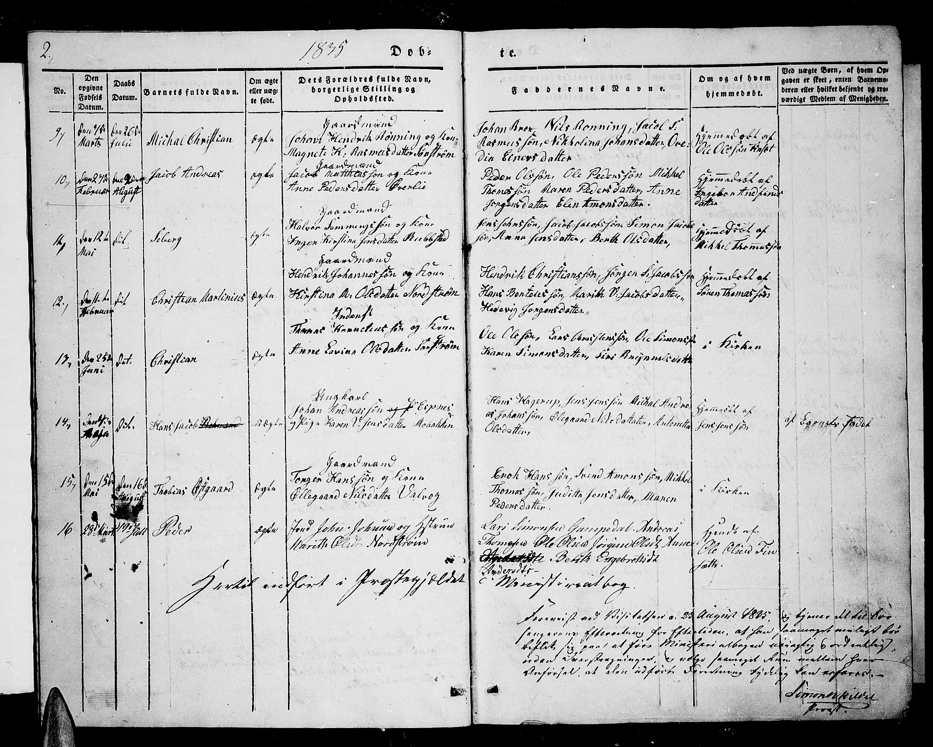 SATØ, Tranøy sokneprestkontor, I/Ia/Iab/L0001klokker: Klokkerbok nr. 1, 1835-1853, s. 2