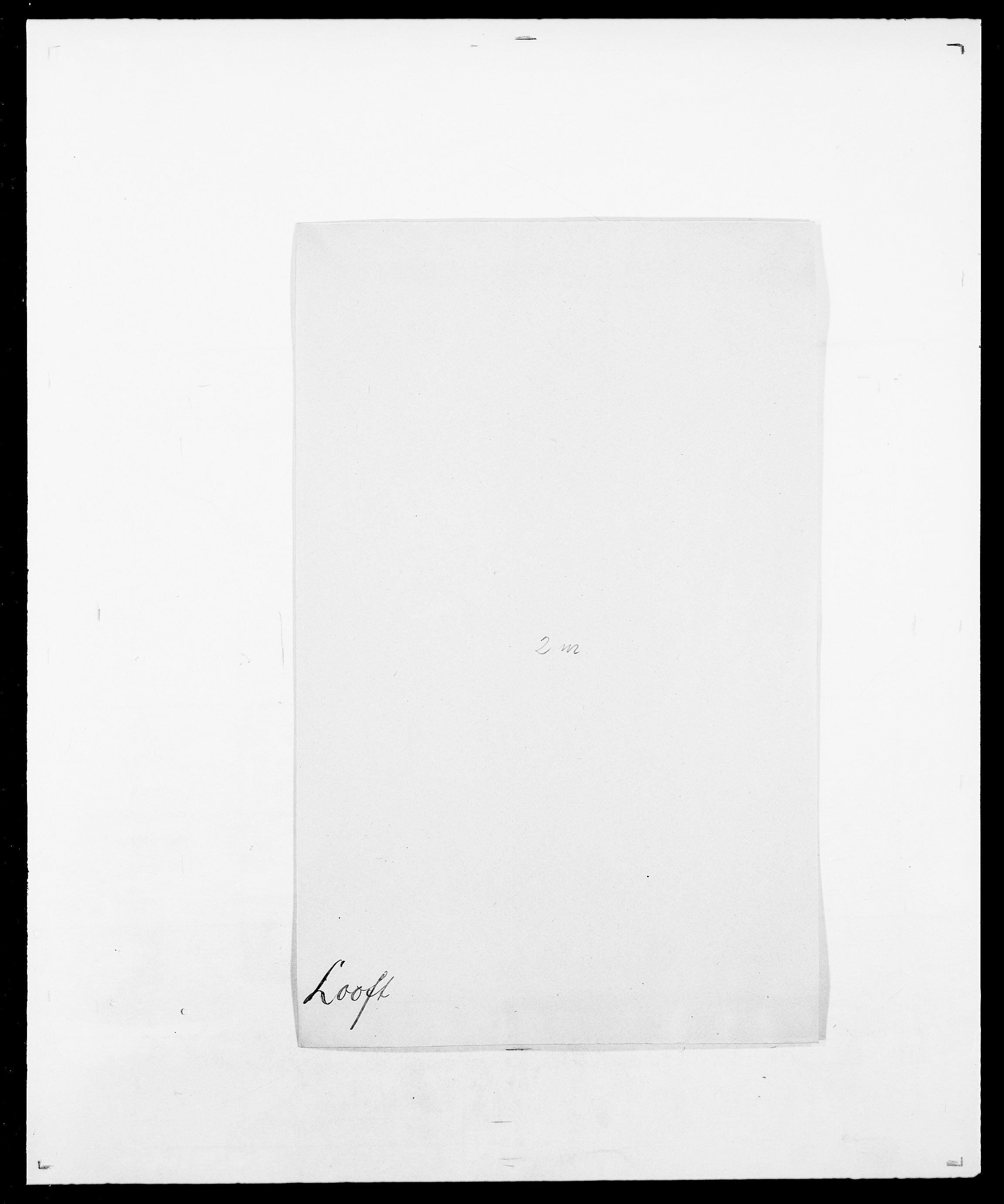 SAO, Delgobe, Charles Antoine - samling, D/Da/L0024: Lobech - Lærum, s. 112