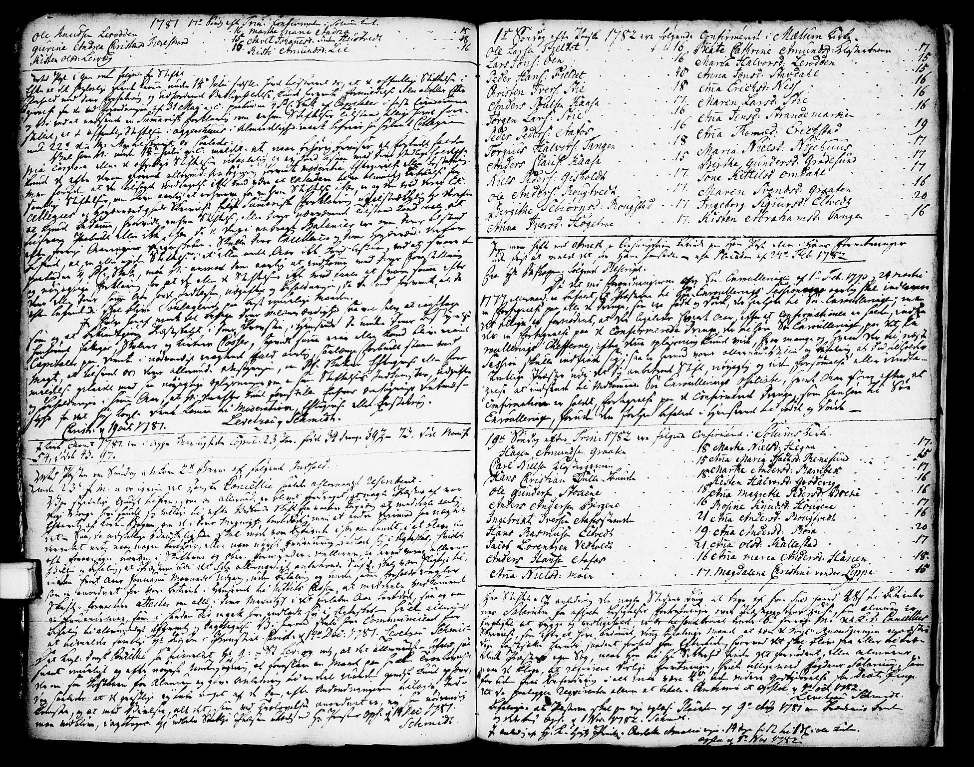 SAKO, Solum sokneprestkontor, A/Aa/L0002: Annen kirkebok nr. 2, 1743-1791