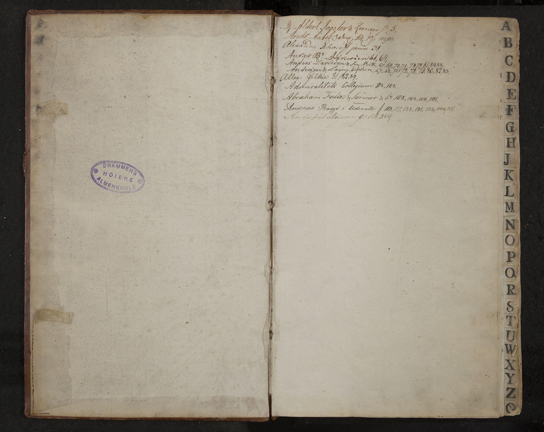 IKAK, Trelasthandler Holter i Drammen, B/L0001: Utenlandsk handelskorrespondanse, 1808-1816