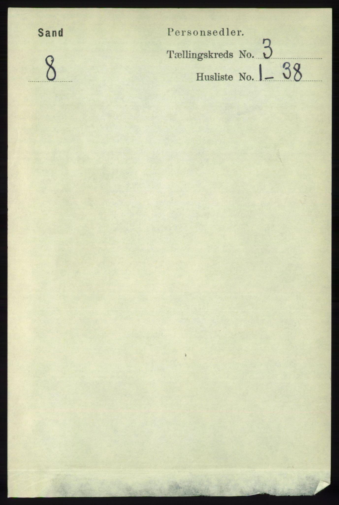 RA, Folketelling 1891 for 1136 Sand herred, 1891, s. 670