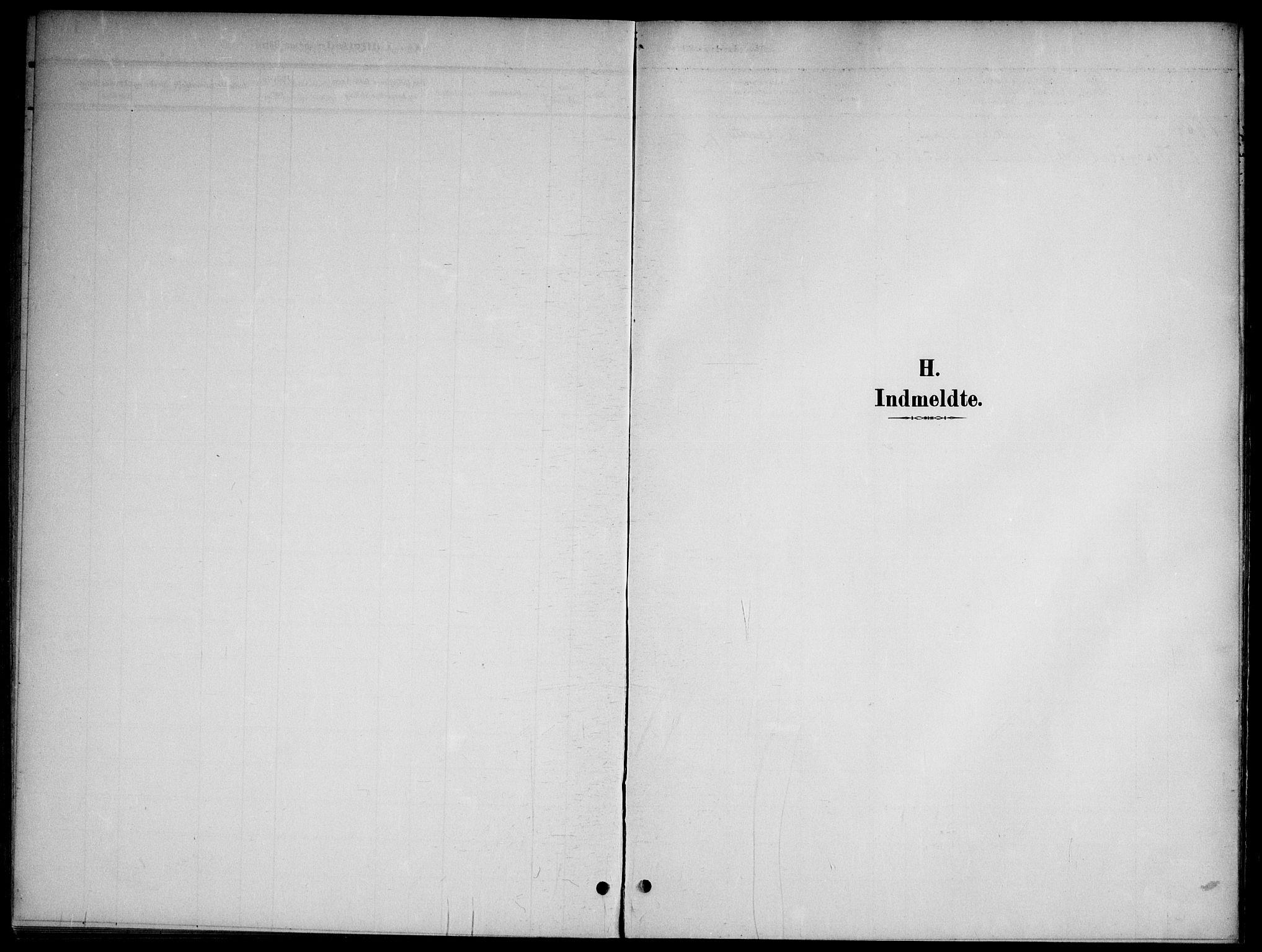 SAO, Nannestad prestekontor Kirkebøker, G/Gb/L0001: Klokkerbok nr. II 1, 1901-1917