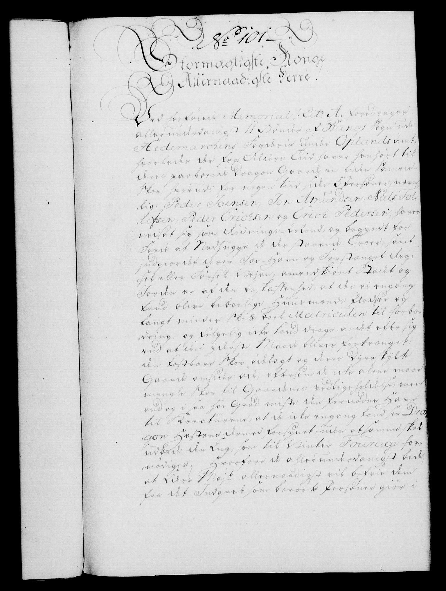 RA, Rentekammeret, Kammerkanselliet, G/Gf/Gfa/L0046: Norsk relasjons- og resolusjonsprotokoll (merket RK 52.46), 1764, s. 404