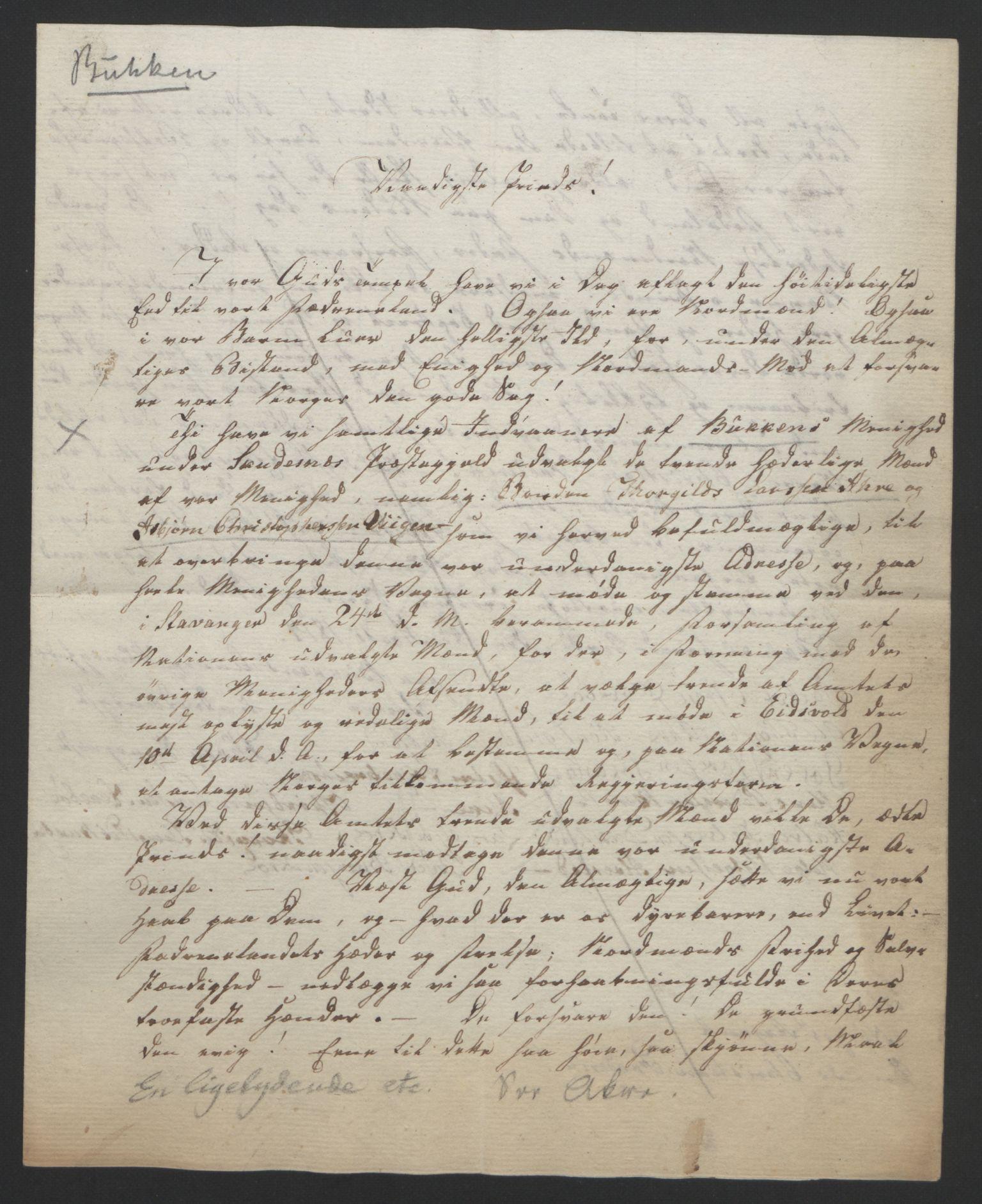 RA, Statsrådssekretariatet, D/Db/L0008: Fullmakter for Eidsvollsrepresentantene i 1814. , 1814, s. 247