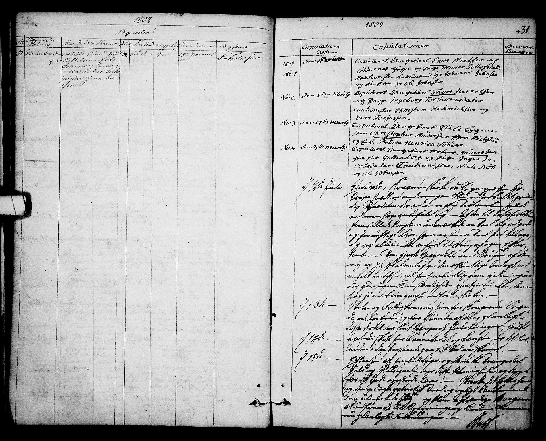 SAKO, Kragerø kirkebøker, F/Fa/L0003: Ministerialbok nr. 3, 1802-1813, s. 31