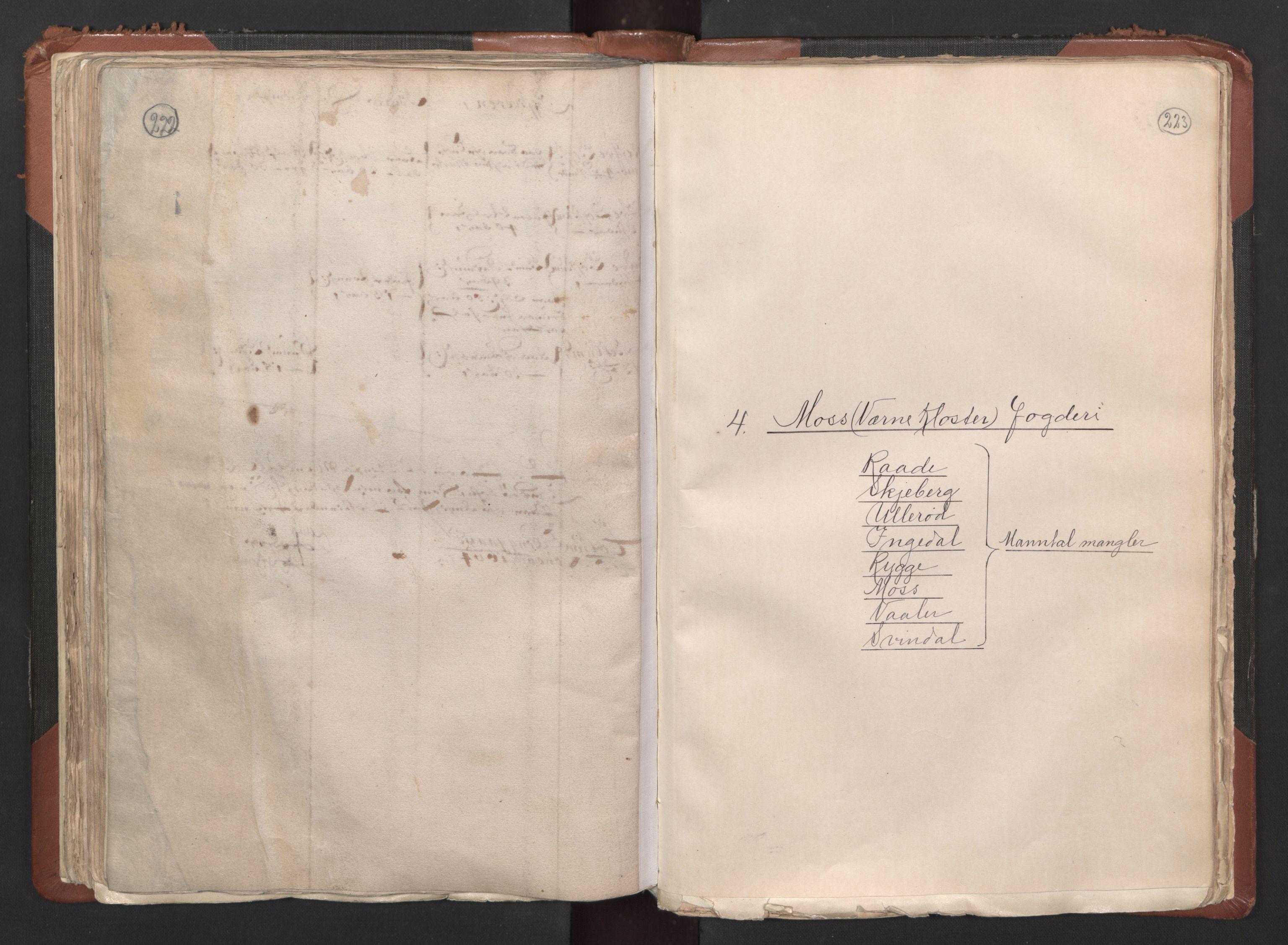 RA, Fogdenes og sorenskrivernes manntall 1664-1666, nr. 1: Fogderier (len og skipreider) i nåværende Østfold fylke, 1664, s. 222-223