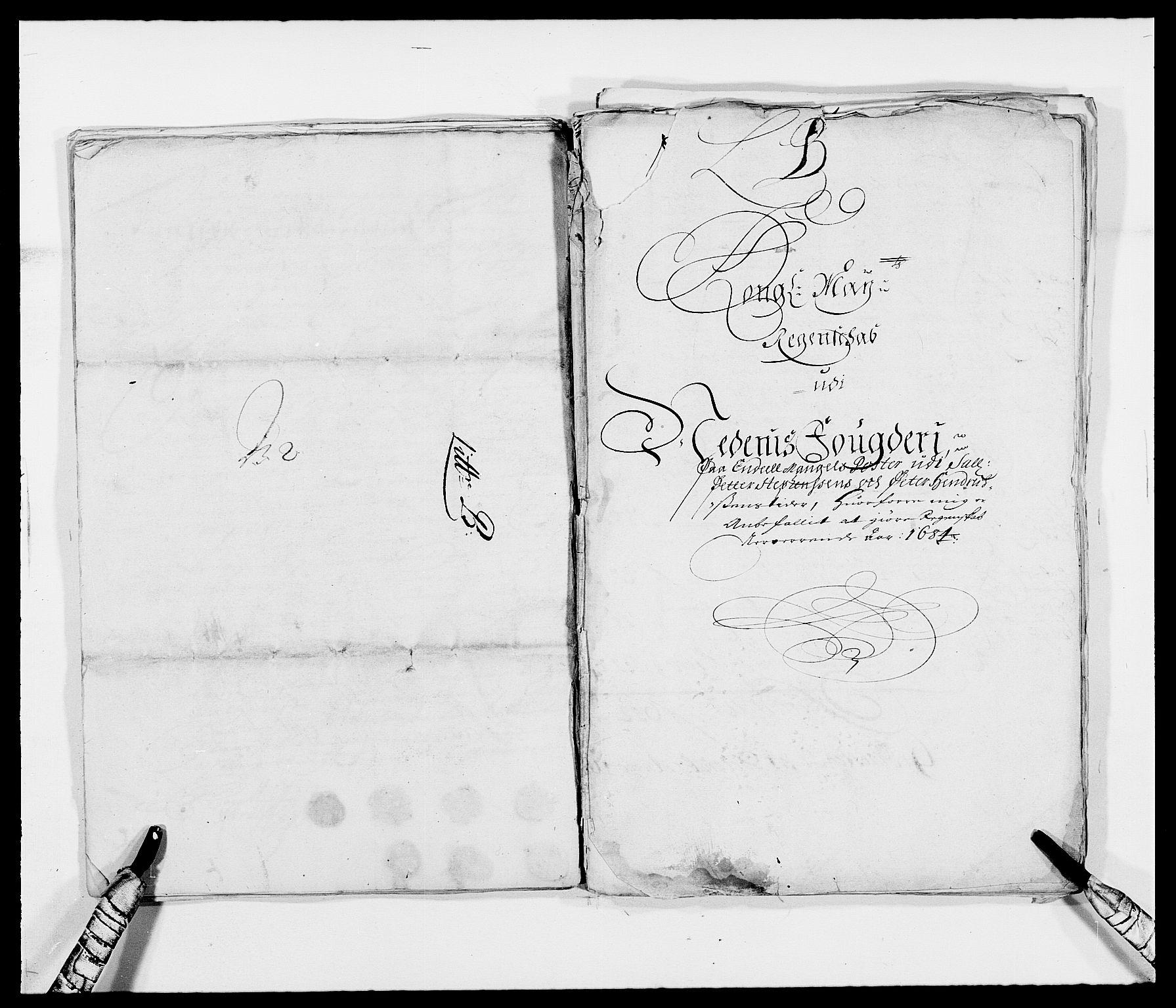 RA, Rentekammeret inntil 1814, Reviderte regnskaper, Fogderegnskap, R39/L2308: Fogderegnskap Nedenes, 1684-1689, s. 2