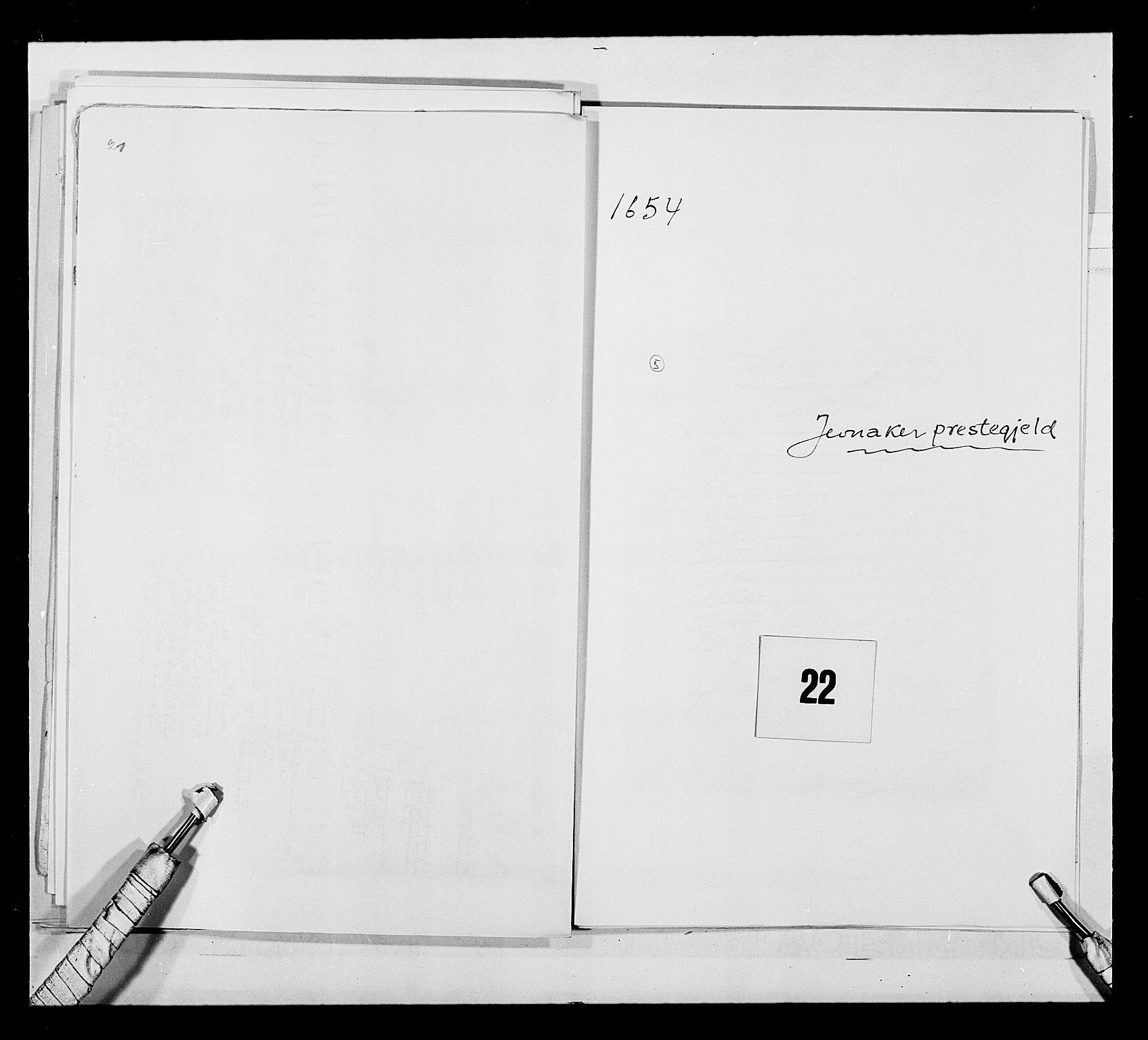 RA, Stattholderembetet 1572-1771, Ek/L0030: Jordebøker 1633-1658:, 1654, s. 89