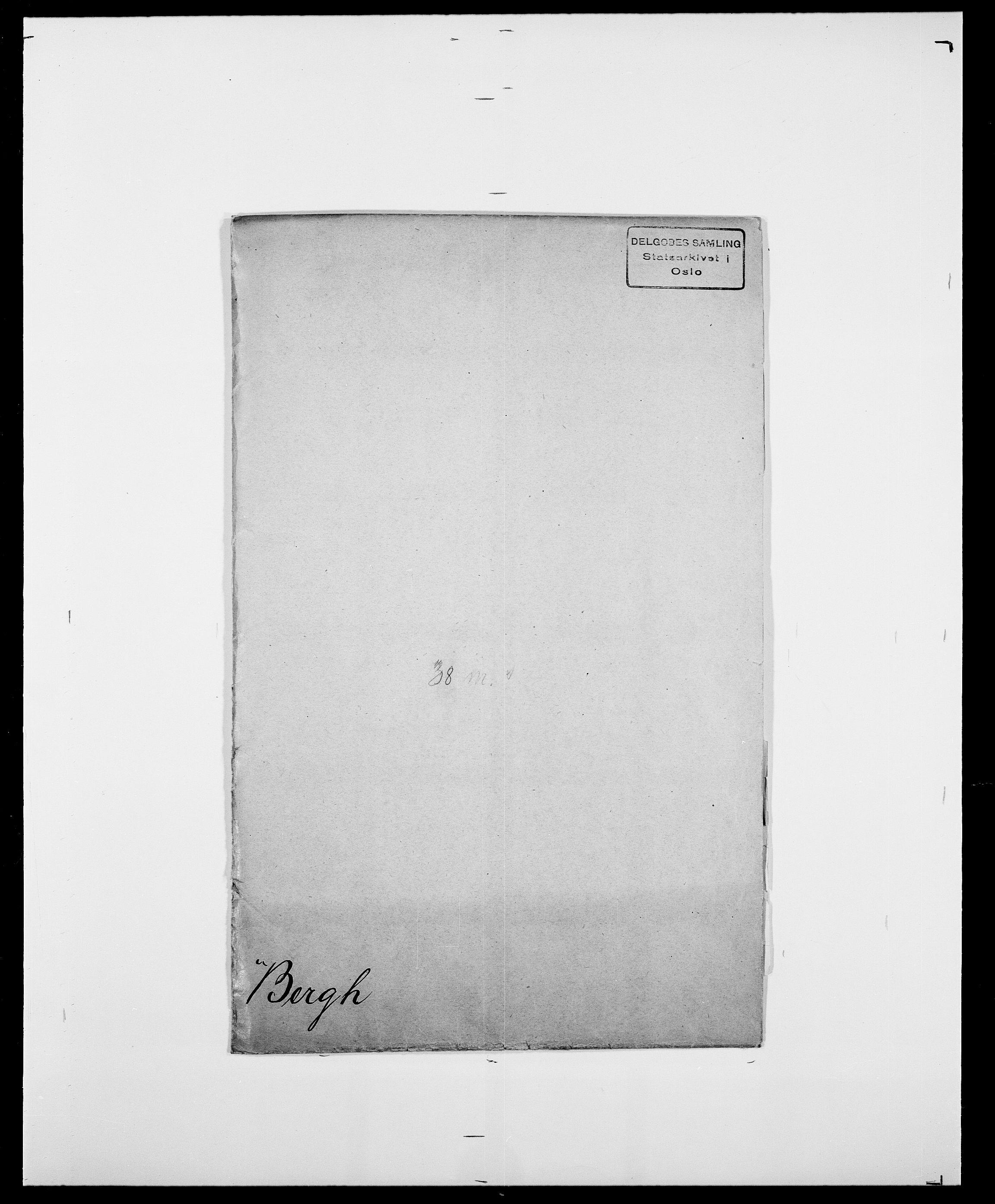 SAO, Delgobe, Charles Antoine - samling, D/Da/L0003: Barca - Bergen, s. 872