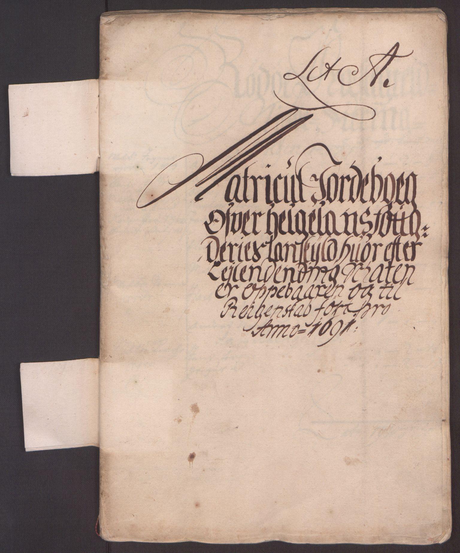 RA, Rentekammeret inntil 1814, Reviderte regnskaper, Fogderegnskap, R65/L4504: Fogderegnskap Helgeland, 1691-1692, s. 6