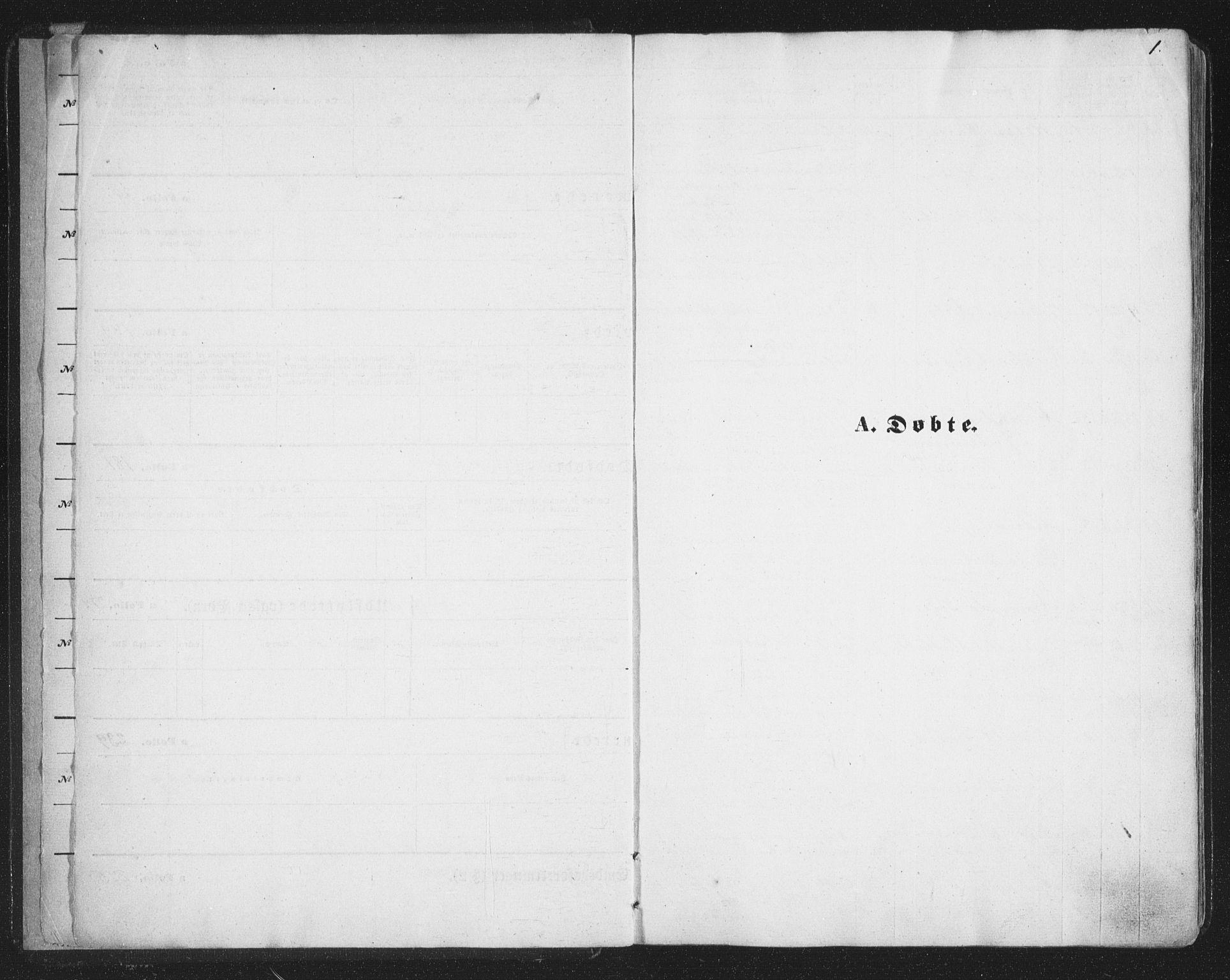 SATØ, Tromsø sokneprestkontor/stiftsprosti/domprosti, G/Ga/L0012kirke: Ministerialbok nr. 12, 1865-1871, s. 1