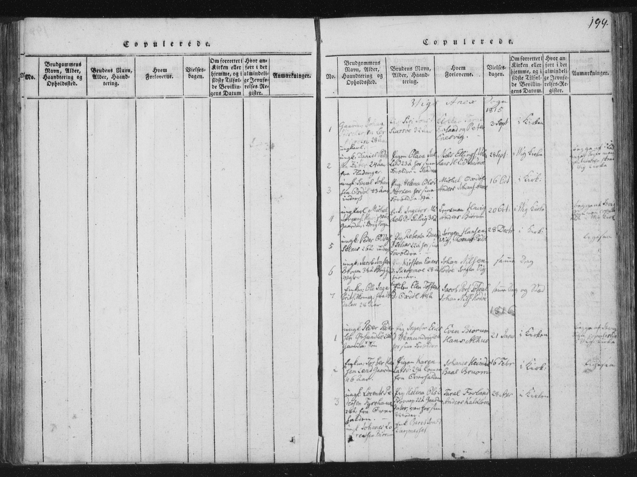 SAT, Ministerialprotokoller, klokkerbøker og fødselsregistre - Nord-Trøndelag, 773/L0609: Ministerialbok nr. 773A03 /2, 1815-1830, s. 199