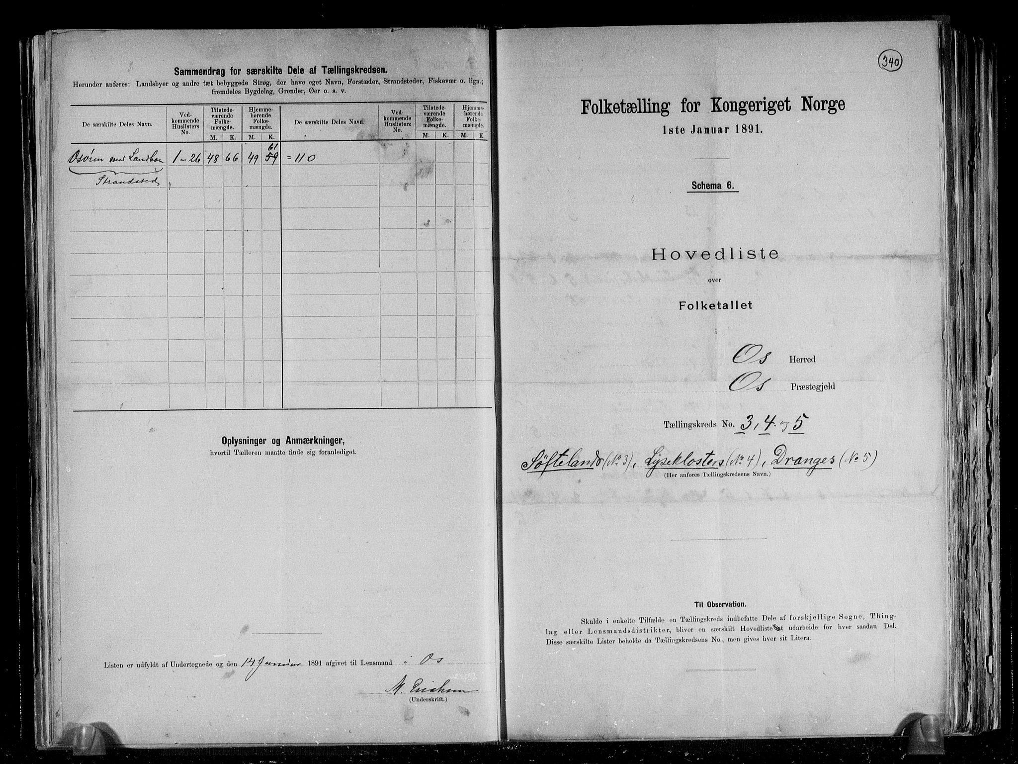 RA, Folketelling 1891 for 1243 Os herred, 1891, s. 10