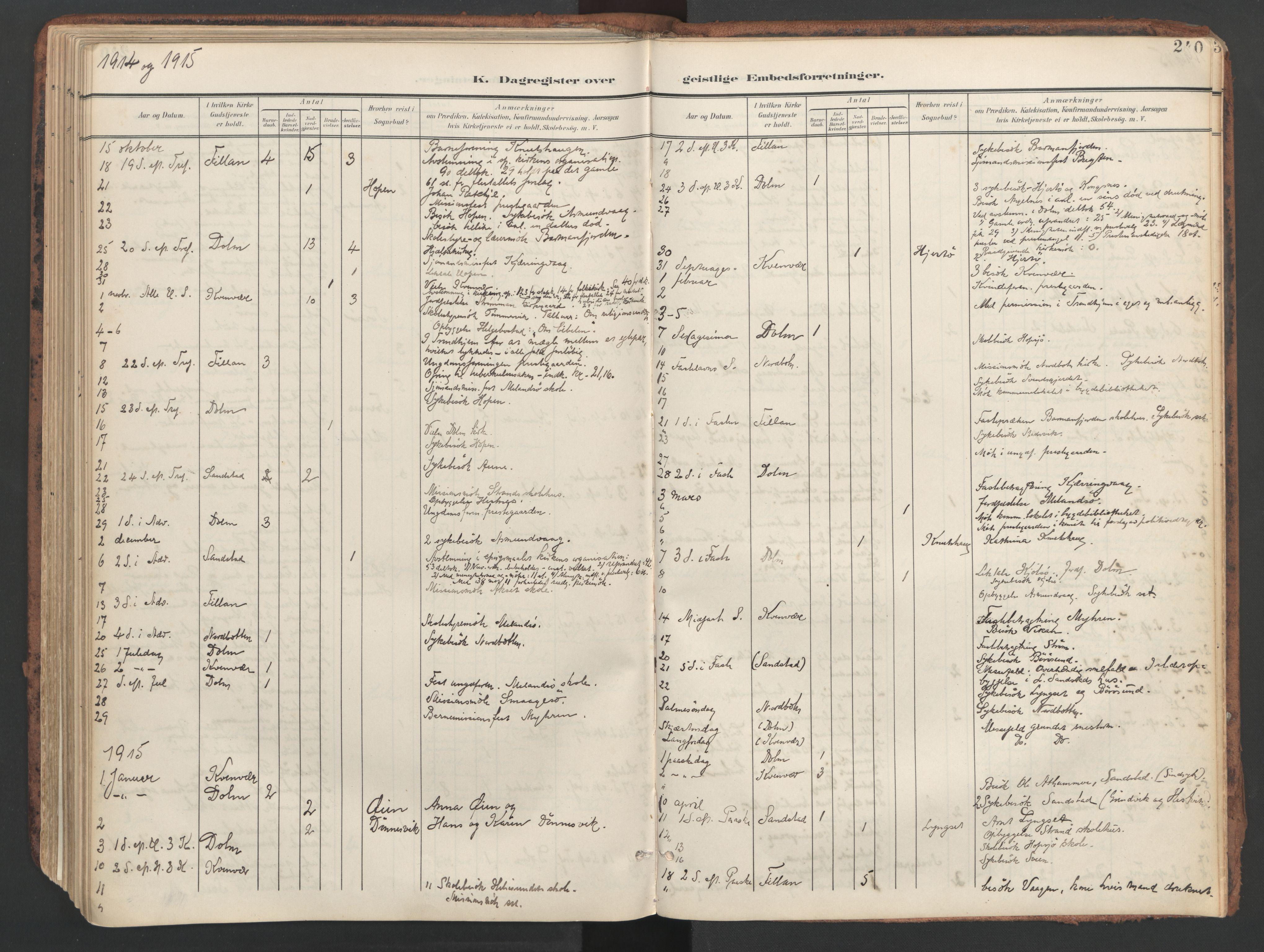 SAT, Ministerialprotokoller, klokkerbøker og fødselsregistre - Sør-Trøndelag, 634/L0537: Ministerialbok nr. 634A13, 1896-1922, s. 240