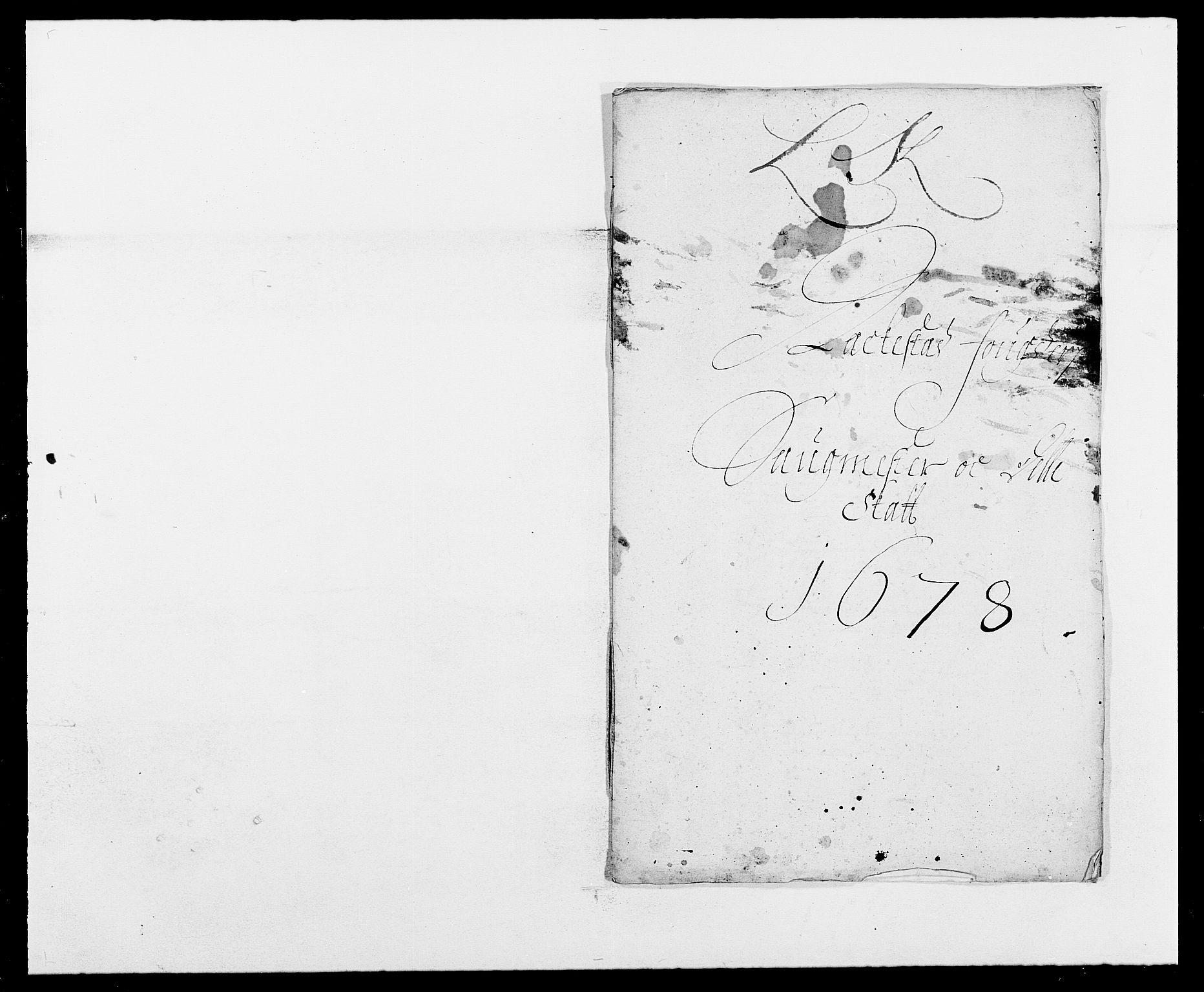 RA, Rentekammeret inntil 1814, Reviderte regnskaper, Fogderegnskap, R05/L0271: Fogderegnskap Rakkestad, 1678-1679, s. 243