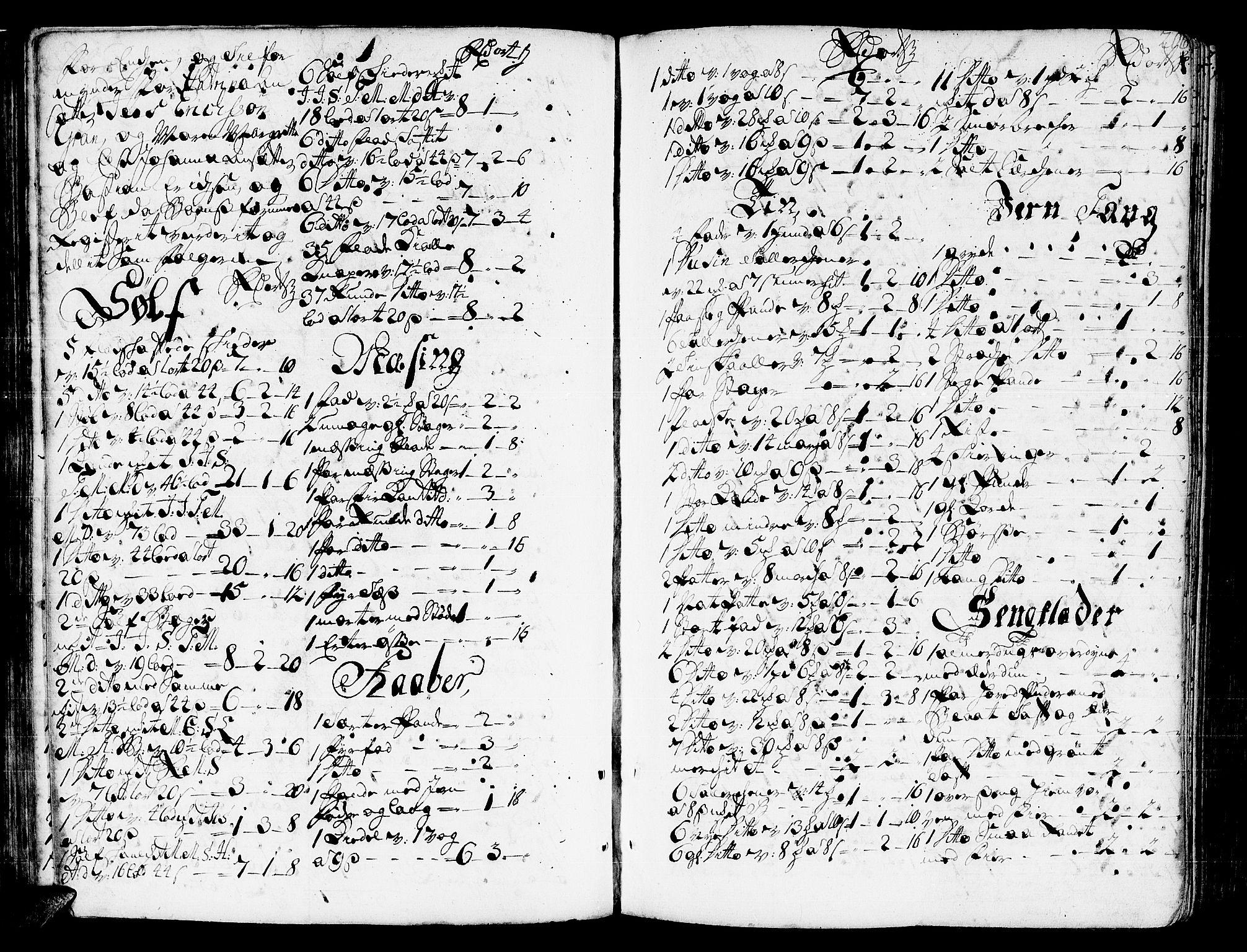 SAT, Romsdal sorenskriveri, 3/3A/L0006: Skifteprotokoll, 1718-1730, s. 205b-206a