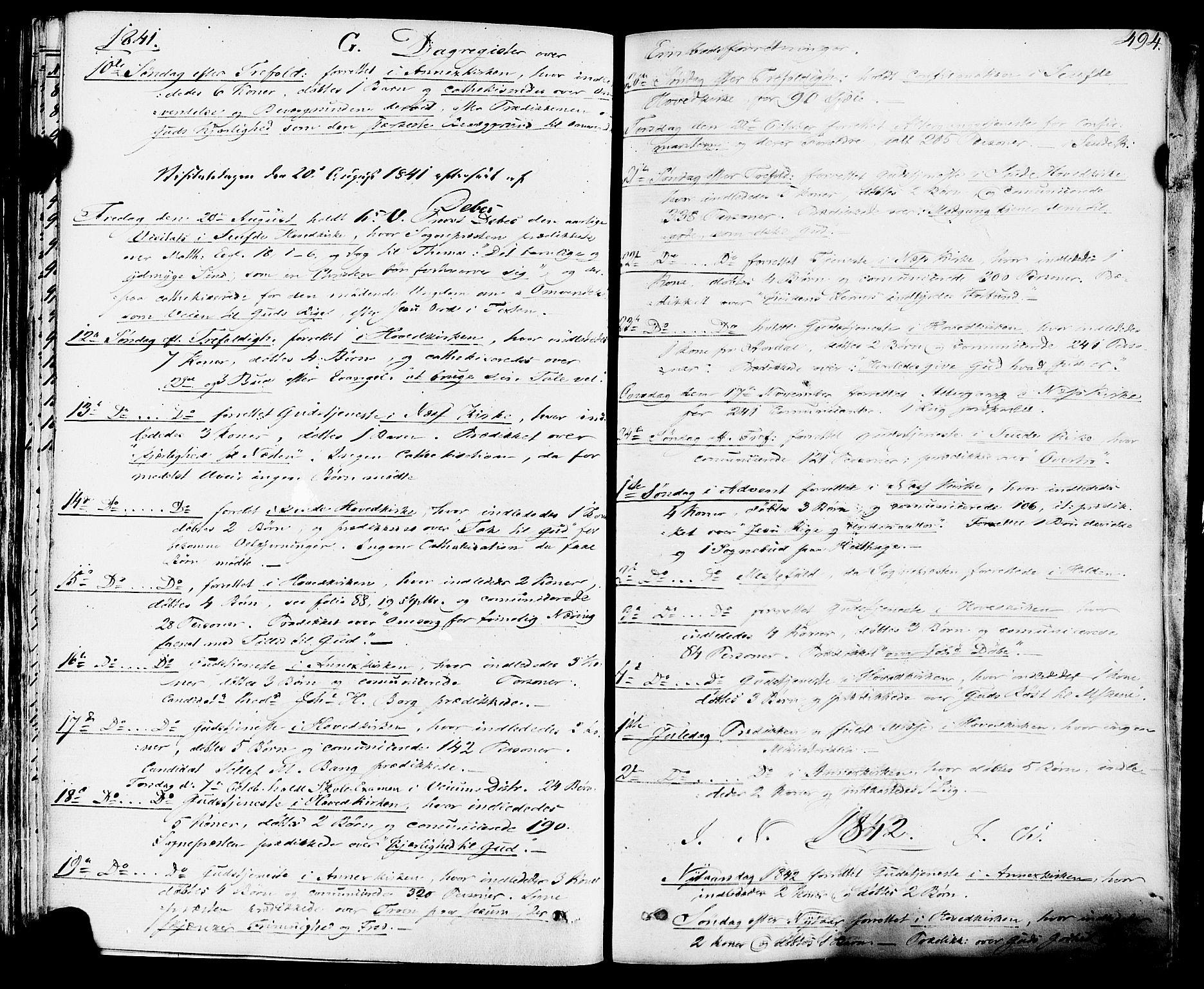 SAKO, Sauherad kirkebøker, F/Fa/L0006: Ministerialbok nr. I 6, 1827-1850, s. 494