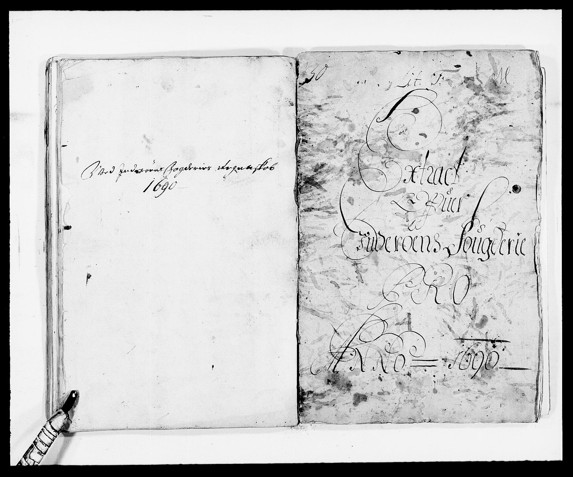 RA, Rentekammeret inntil 1814, Reviderte regnskaper, Fogderegnskap, R63/L4307: Fogderegnskap Inderøy, 1690-1691, s. 3