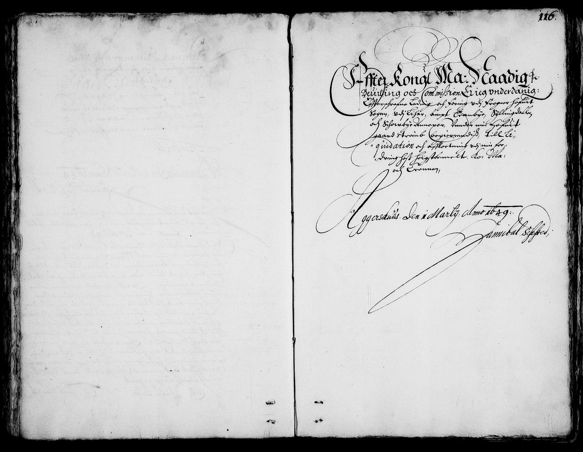 RA, Rentekammeret inntil 1814, Realistisk ordnet avdeling, On/L0001: Statens gods, 1651, s. 115b-116a