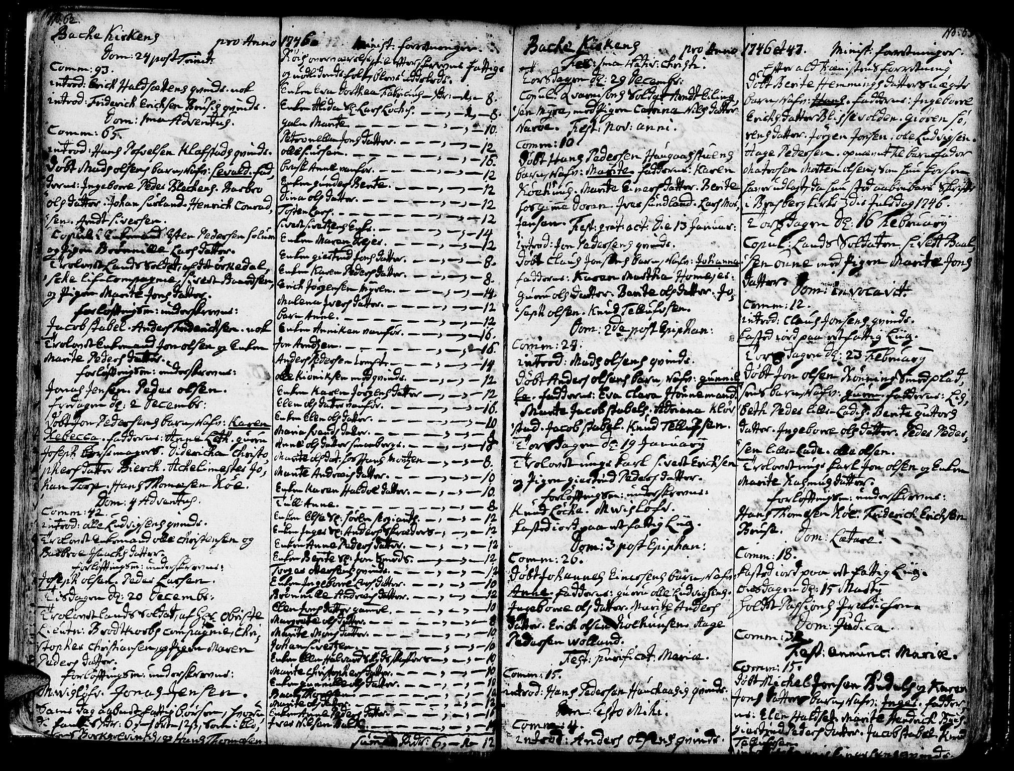SAT, Ministerialprotokoller, klokkerbøker og fødselsregistre - Sør-Trøndelag, 606/L0276: Ministerialbok nr. 606A01 /2, 1727-1779, s. 62-63