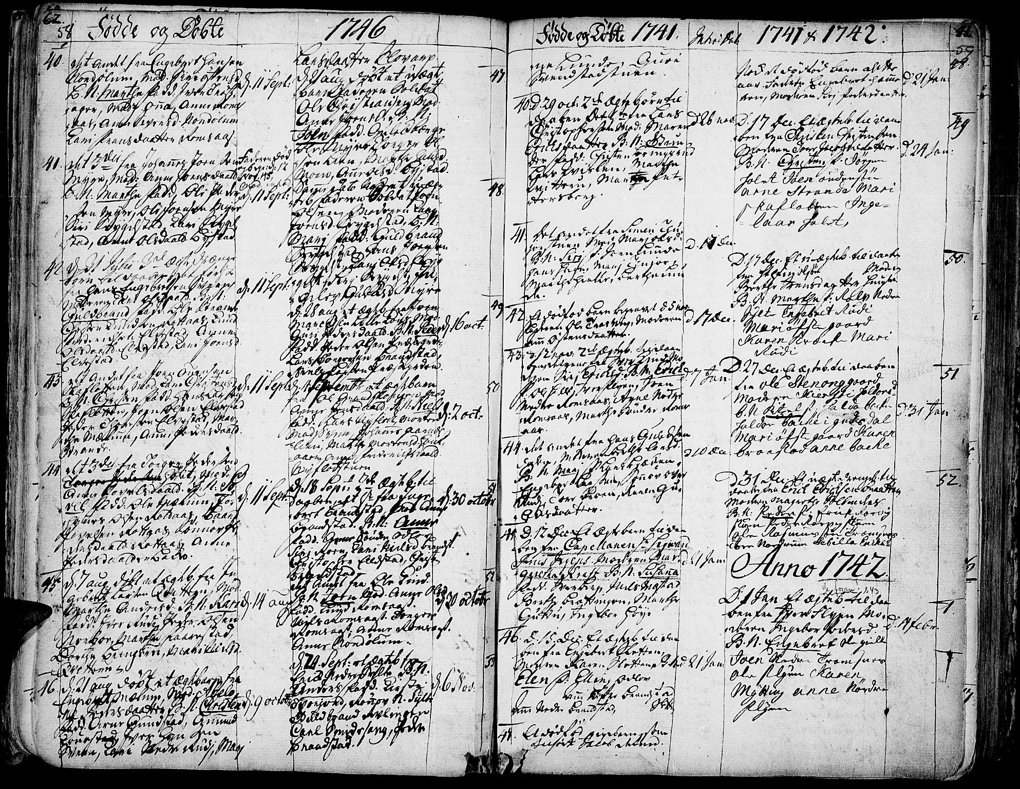 SAH, Ringebu prestekontor, Ministerialbok nr. 2, 1734-1780, s. 58-59