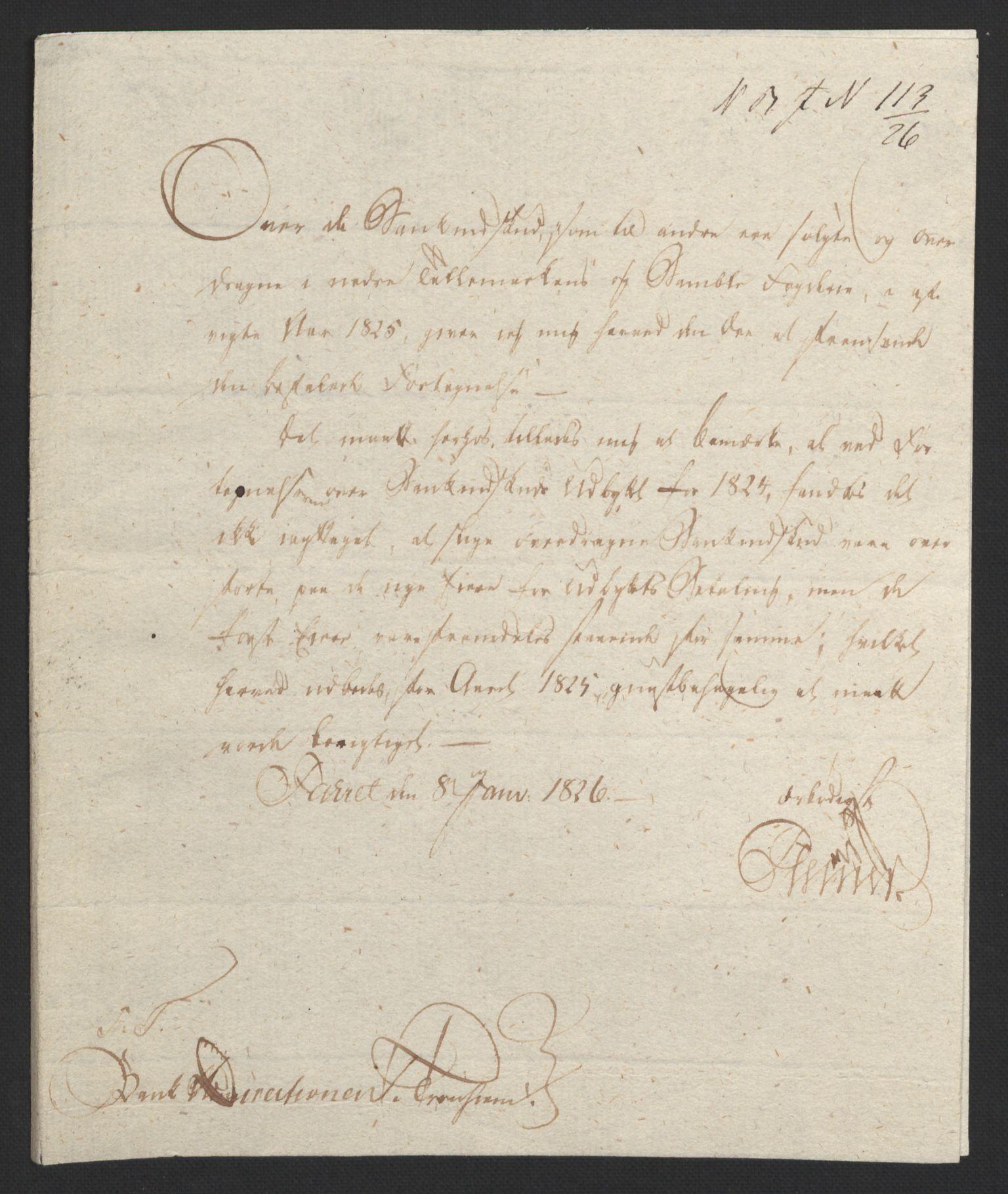 NOBA, Norges Bank/Sølvskatten 1816*, 1816-1824, s. 77