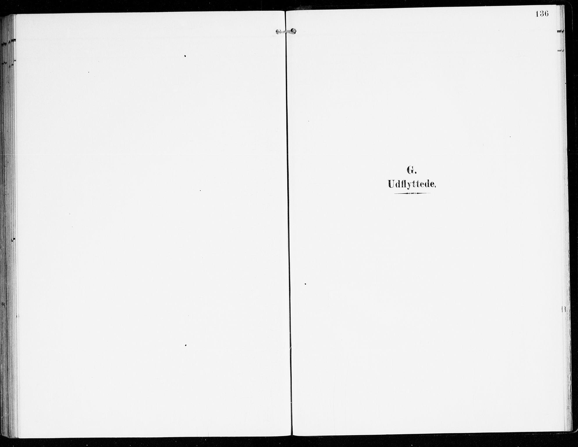 SAB, Hyllestad Sokneprestembete, Ministerialbok nr. D 2, 1905-1919, s. 136
