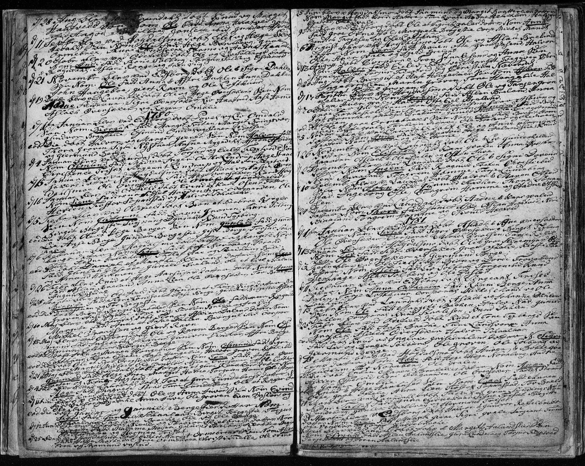SAKO, Lårdal kirkebøker, F/Fa/L0003: Ministerialbok nr. I 3, 1754-1790, s. 26